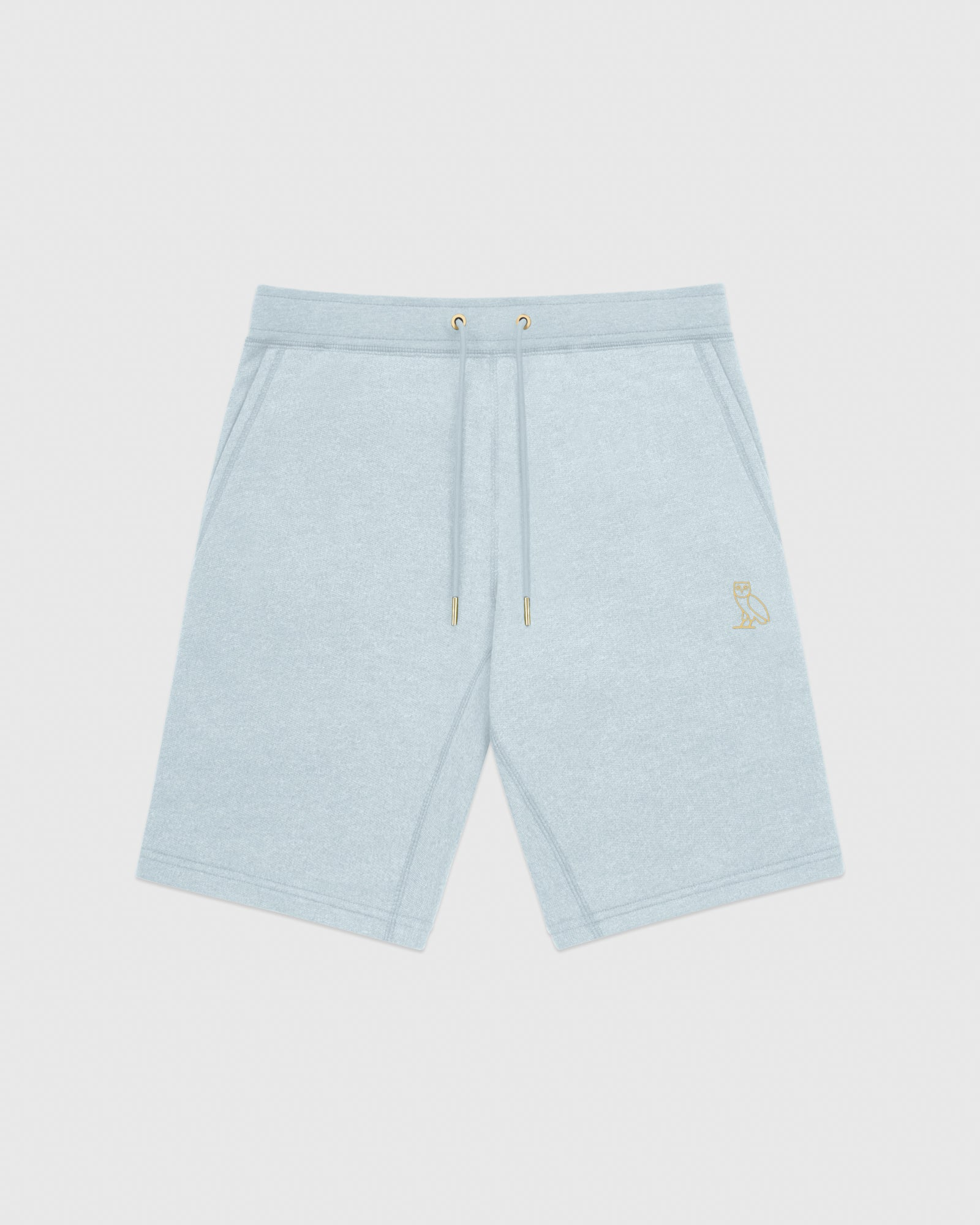 OVO FRENCH TERRY SHORT - HEATHER LIGHT BLUE IMAGE #1