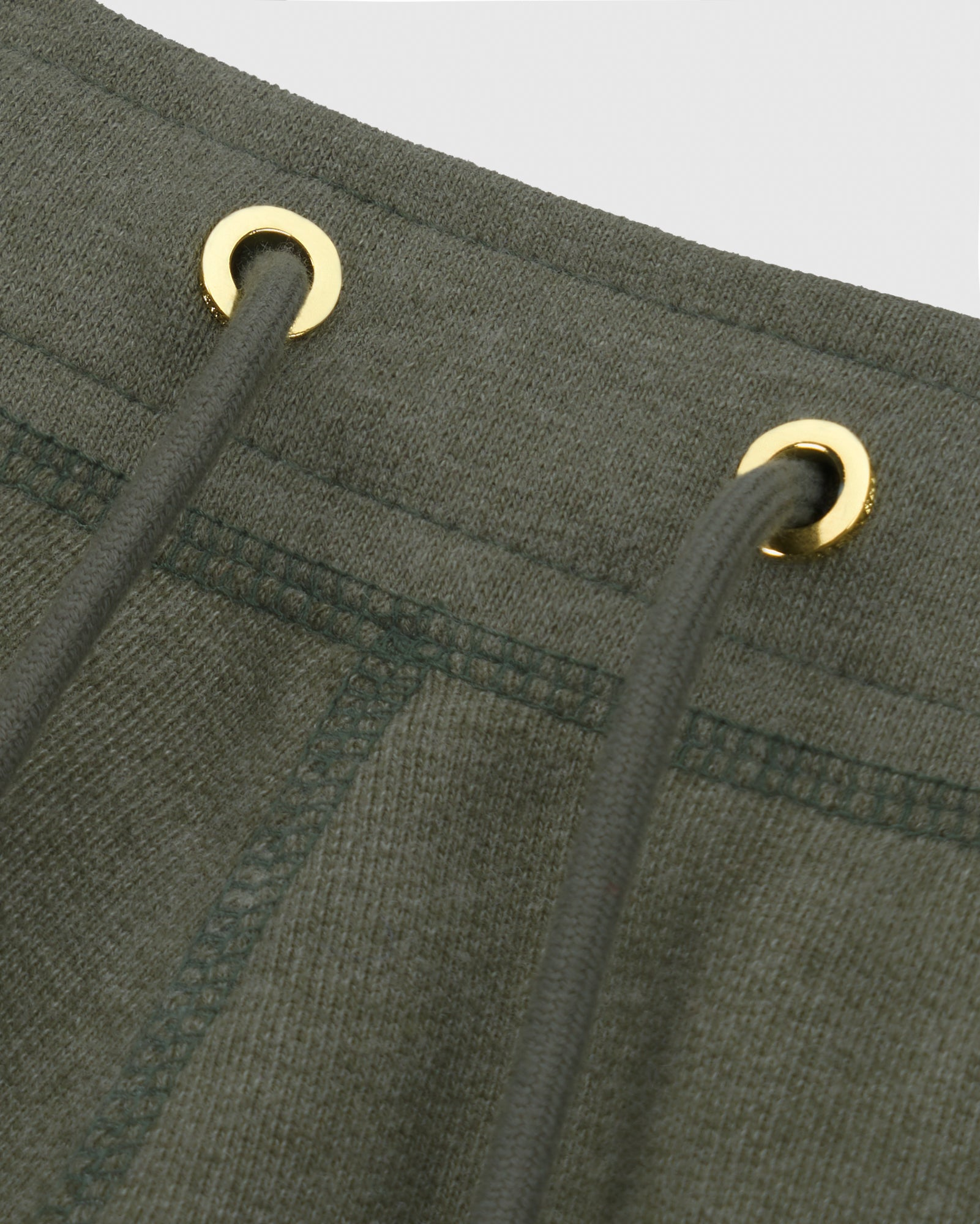 OVO FRENCH TERRY SHORT - HEATHER MILITARY GREEN IMAGE #4