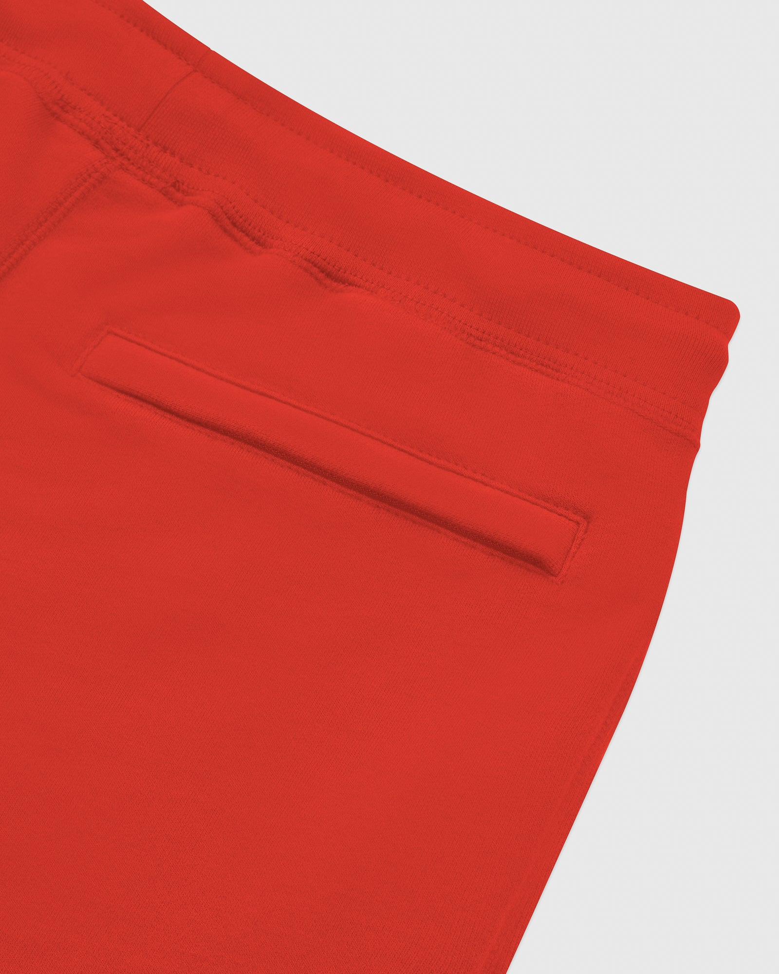 MID-WEIGHT FRENCH TERRY SWEATPANT - RED IMAGE #6