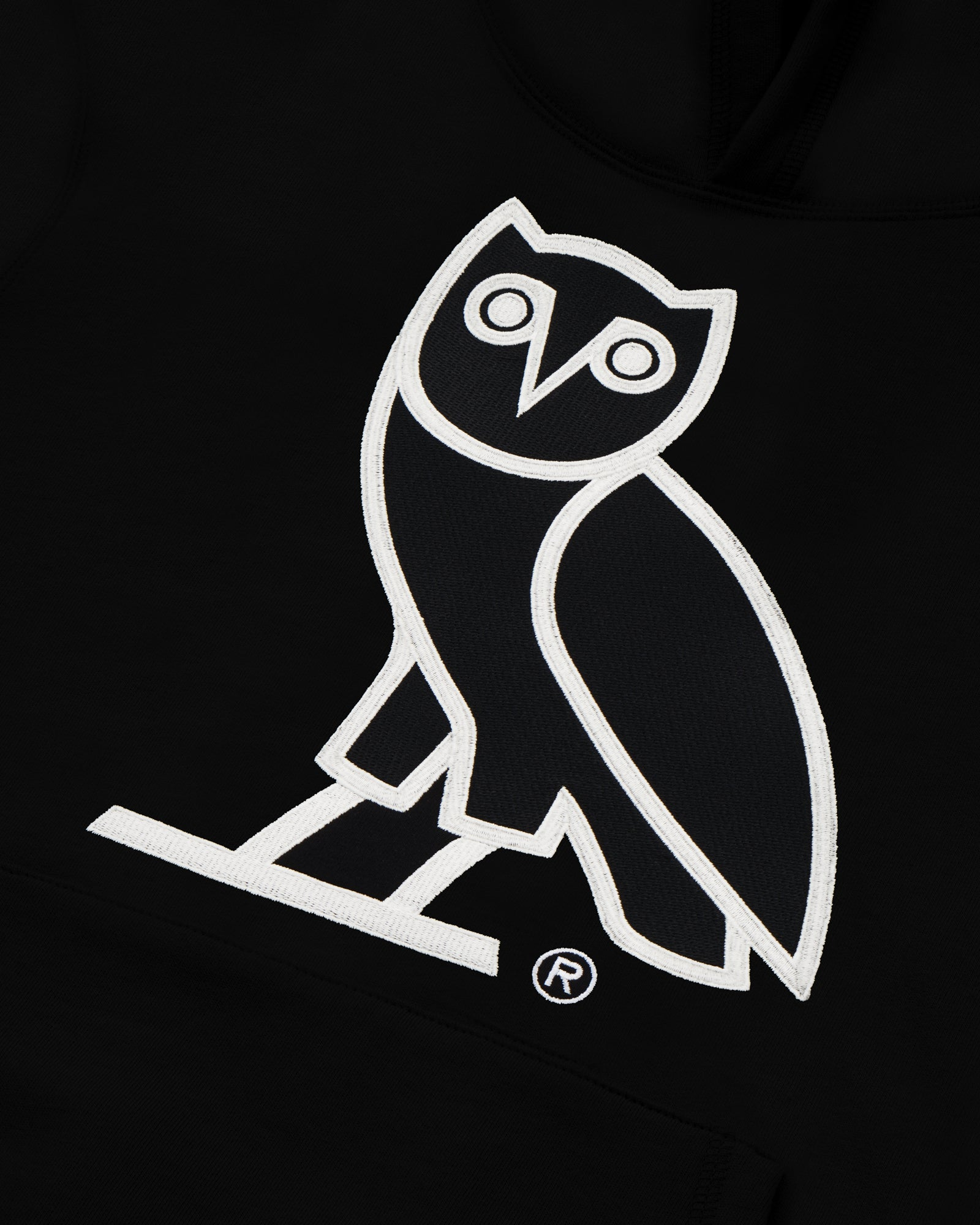 OVO AFTER DARK OWL HOODIE - BLACK IMAGE #3