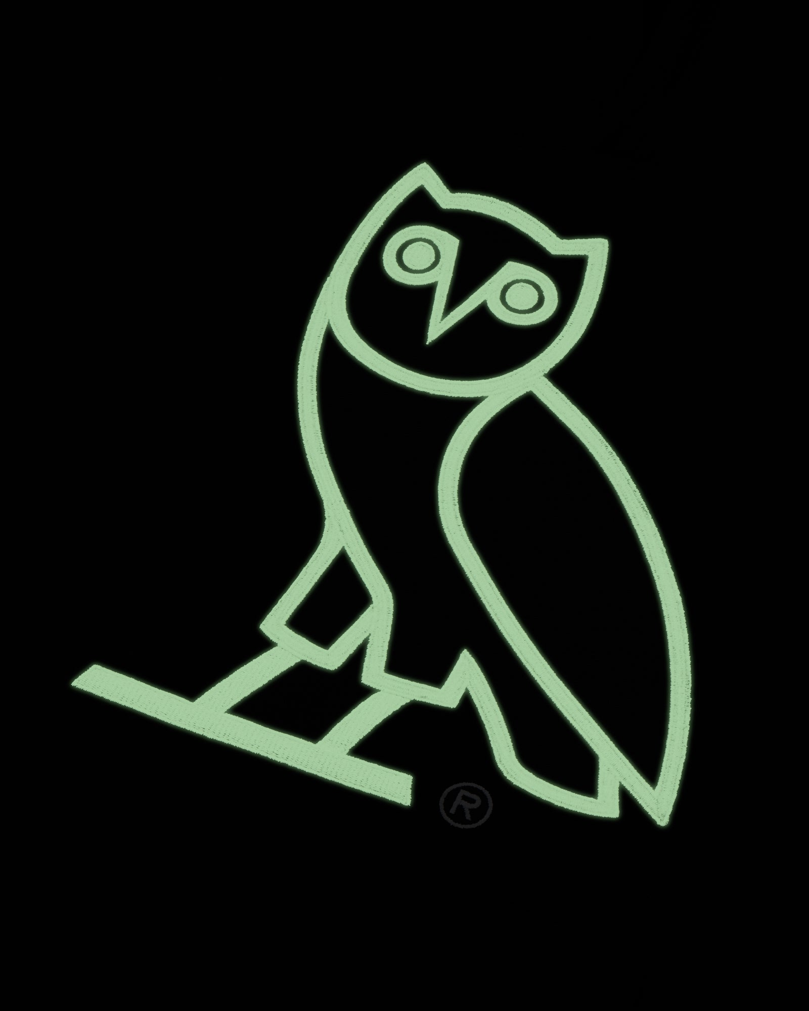 OVO AFTER DARK OWL HOODIE - BLACK IMAGE #4