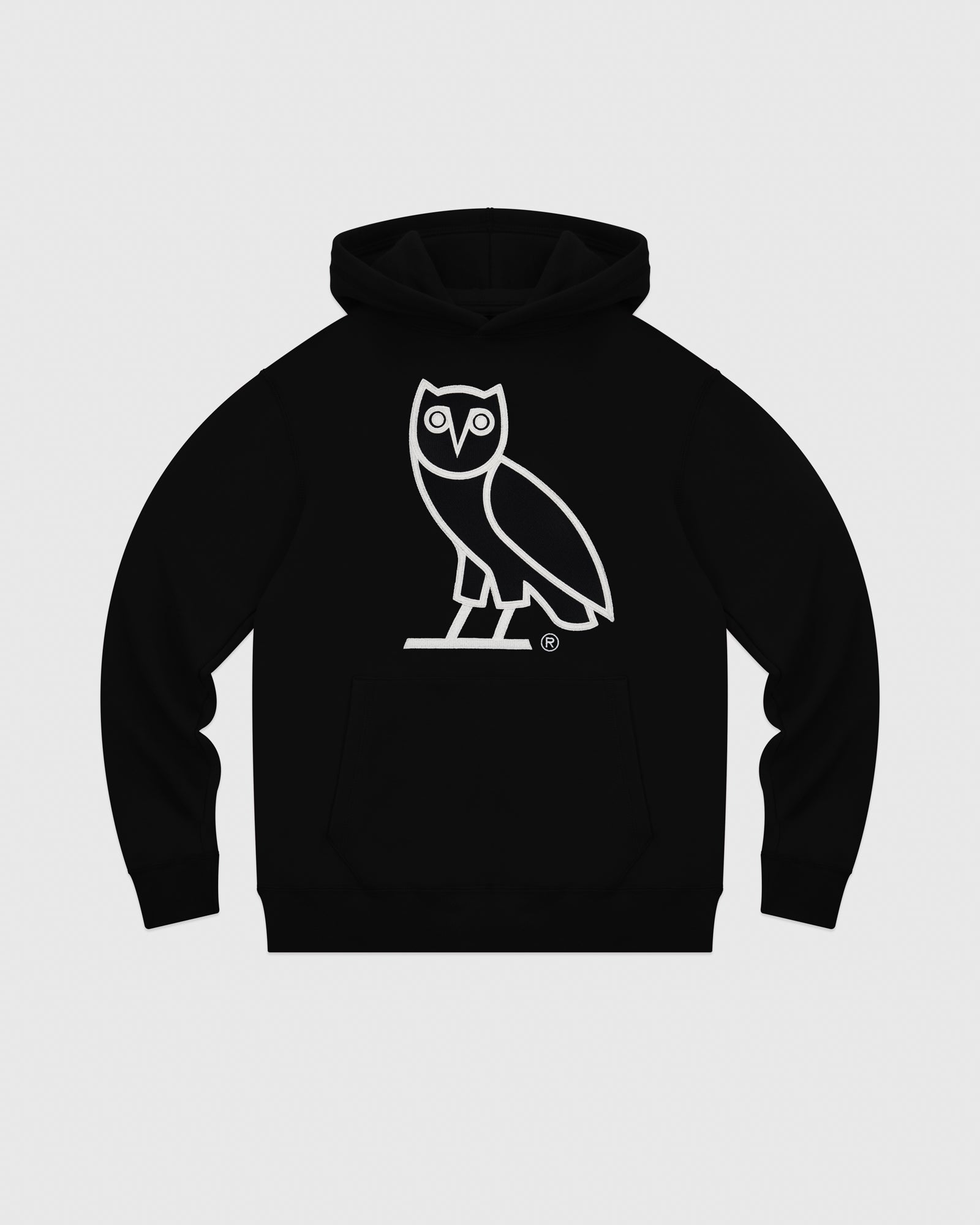 OVO AFTER DARK OWL HOODIE - BLACK IMAGE #1
