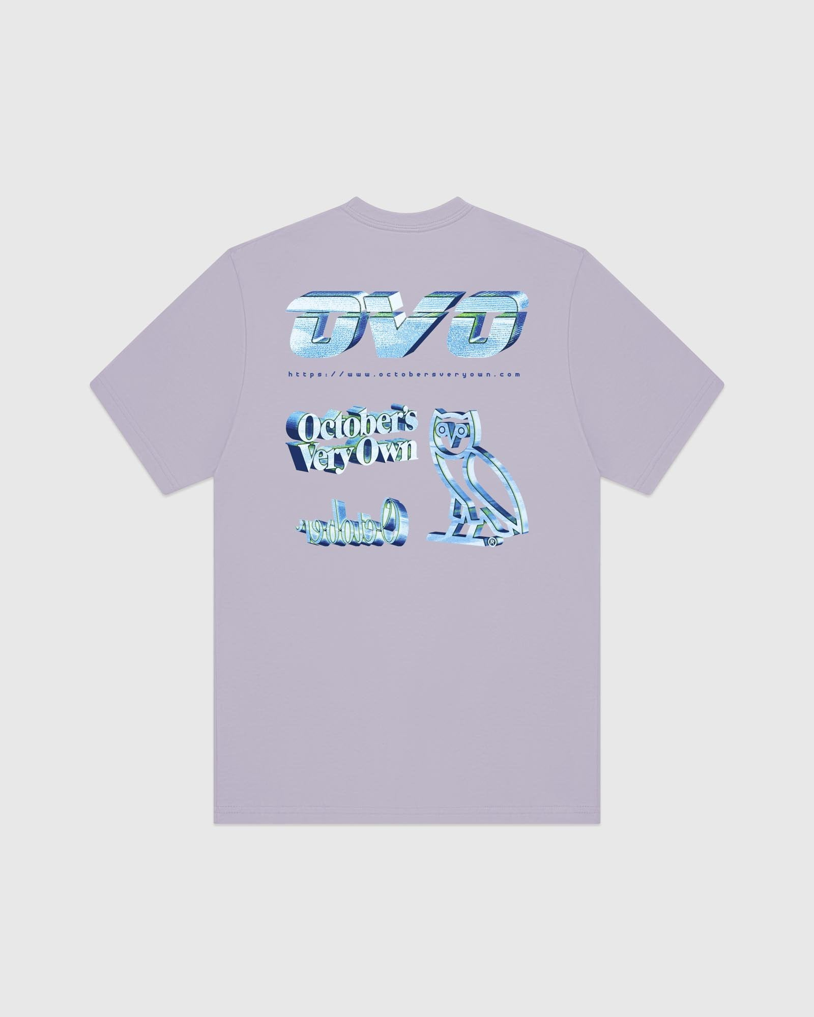 CYBER T-SHIRT - LIGHT PURPLE IMAGE #5