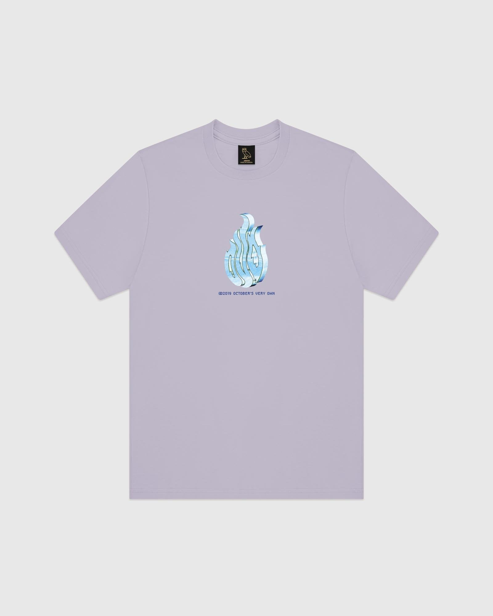 CYBER T-SHIRT - LIGHT PURPLE IMAGE #1