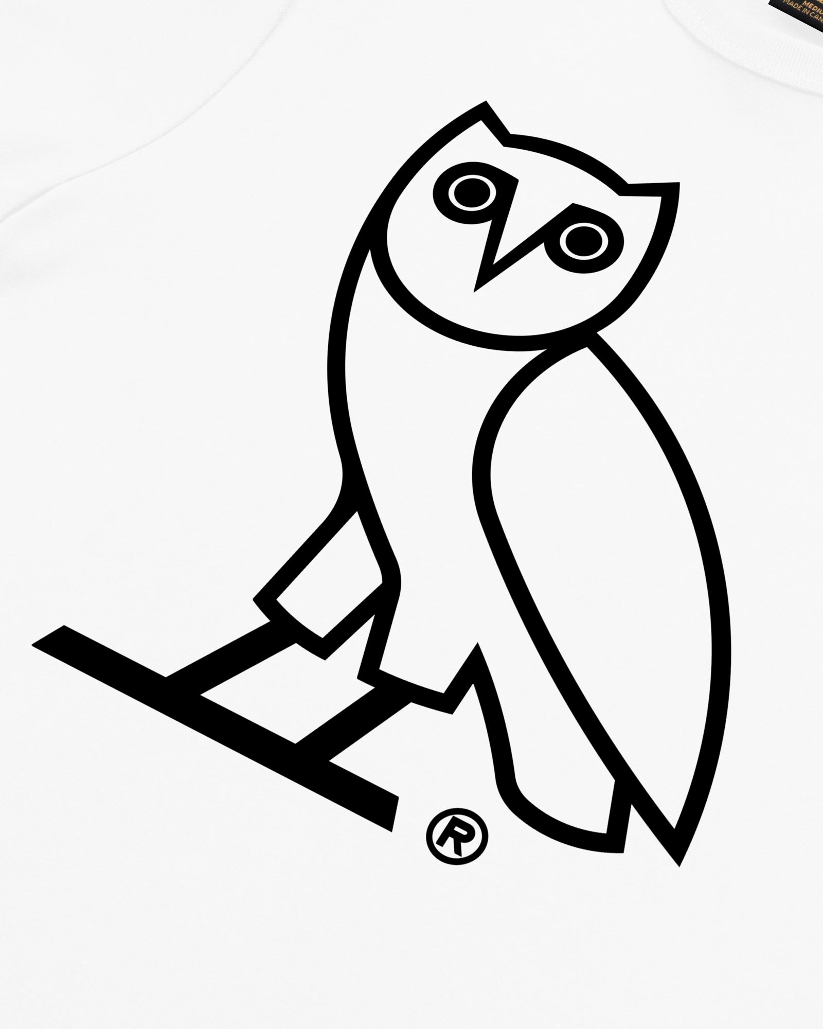 OVO OWL T-SHIRT - WHITE