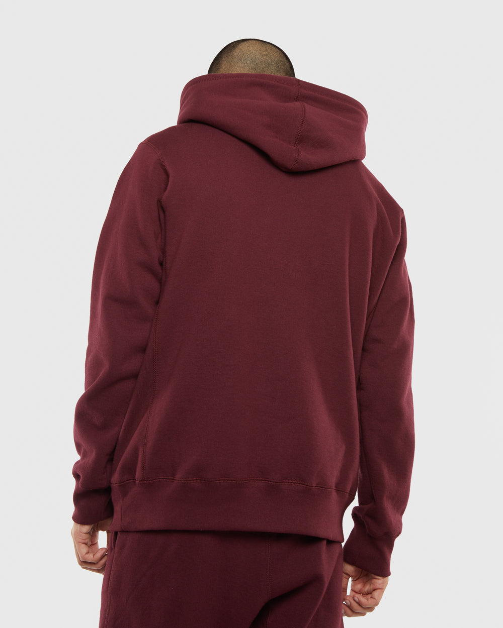 OVO TOURNAMENT HOODIE - BURGUNDY