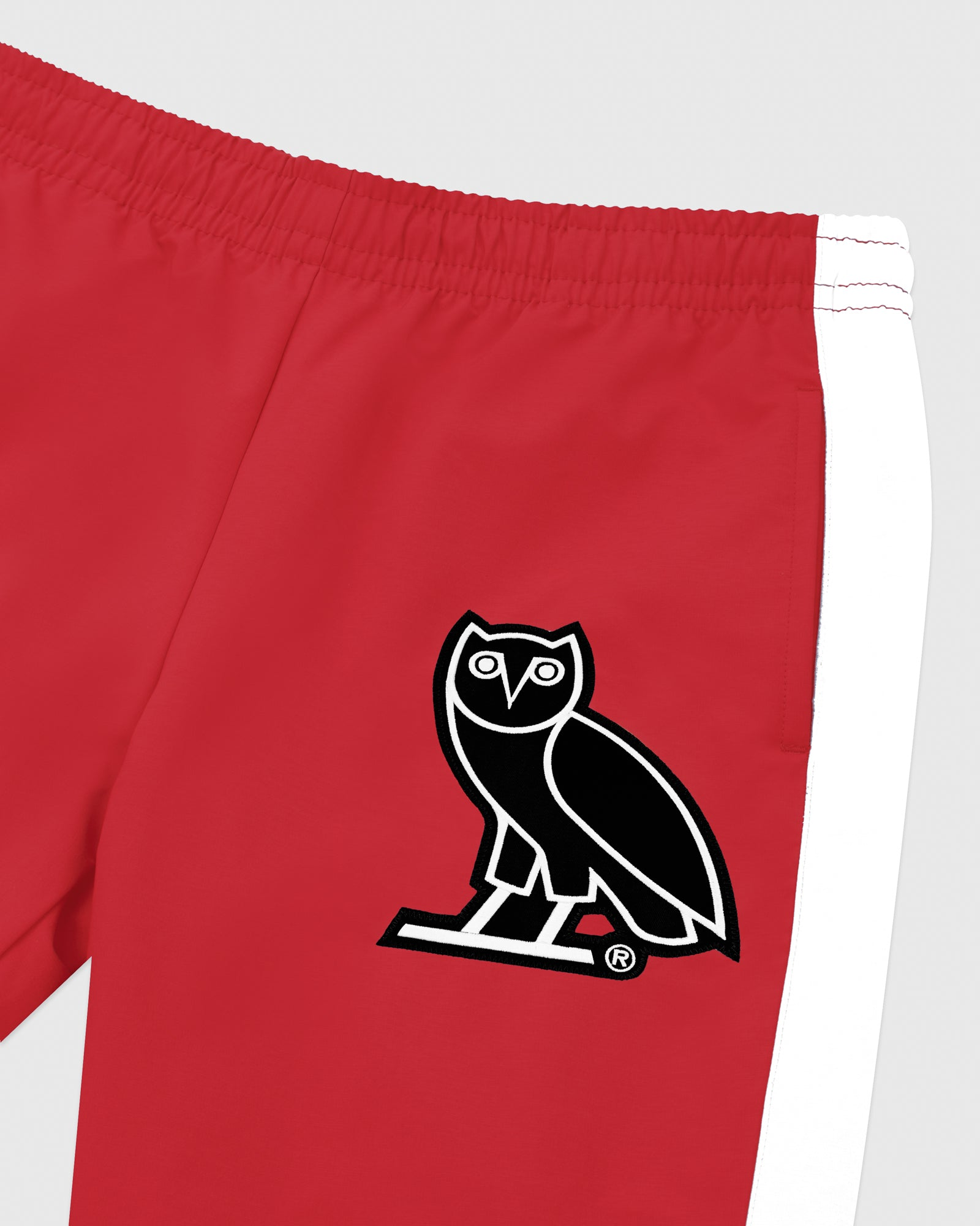 OVO LIGHTWEIGHT SHELL PANT - RED IMAGE #3