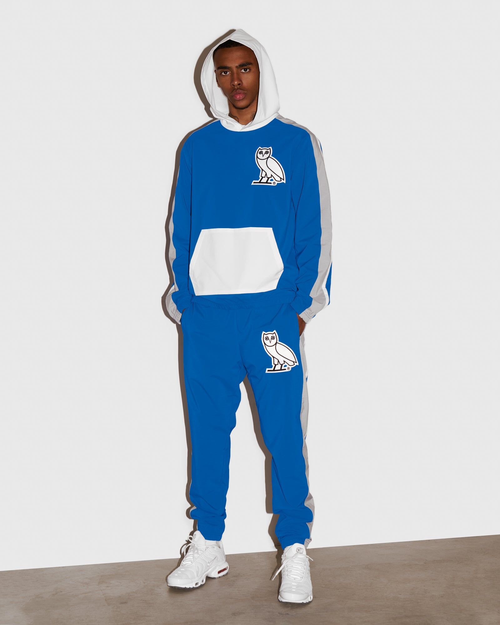 OVO LIGHTWEIGHT SHELL PANT - ROYAL BLUE IMAGE #2