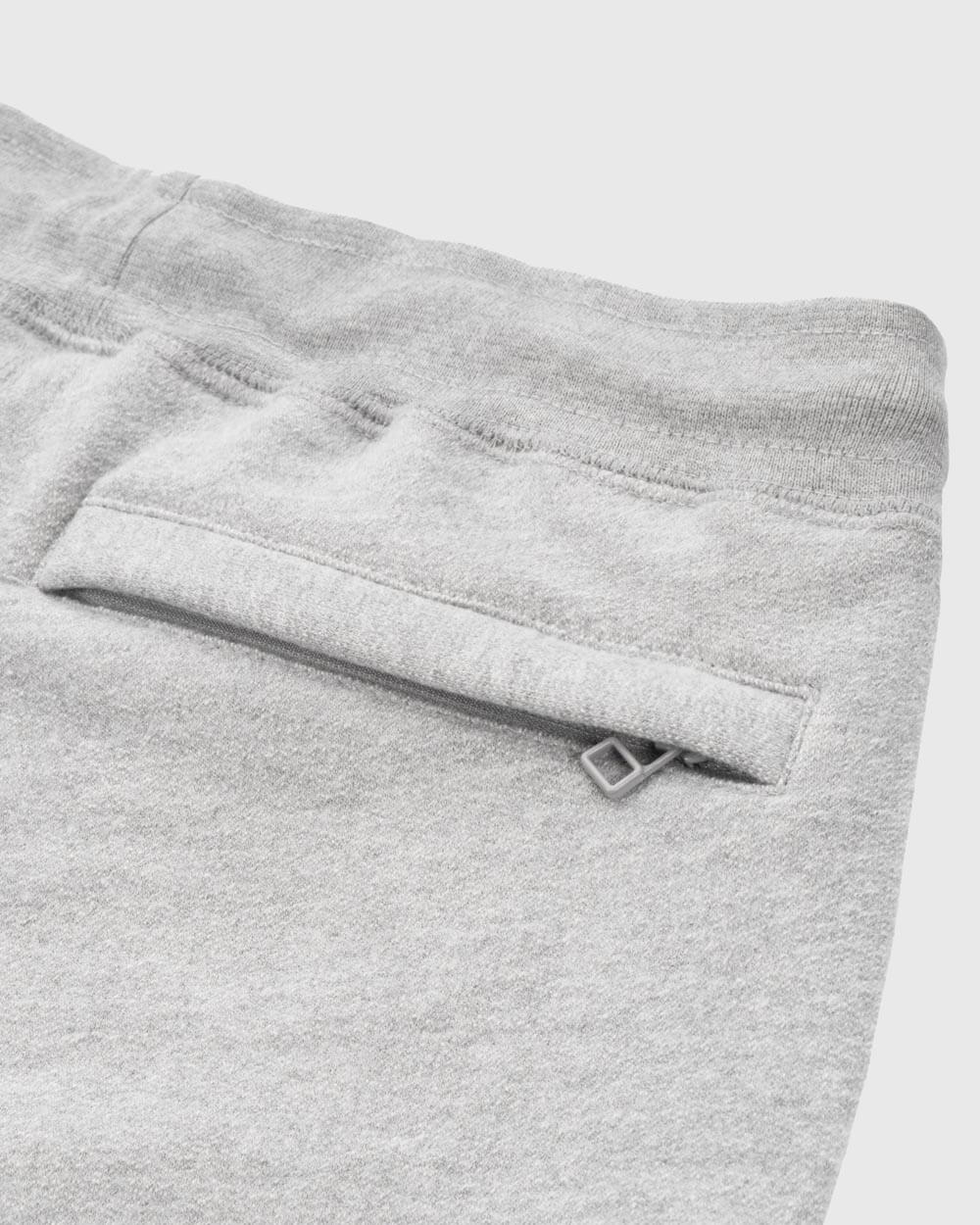OVO ESSENTIALS SHORT - HEATHER GREY IMAGE #6