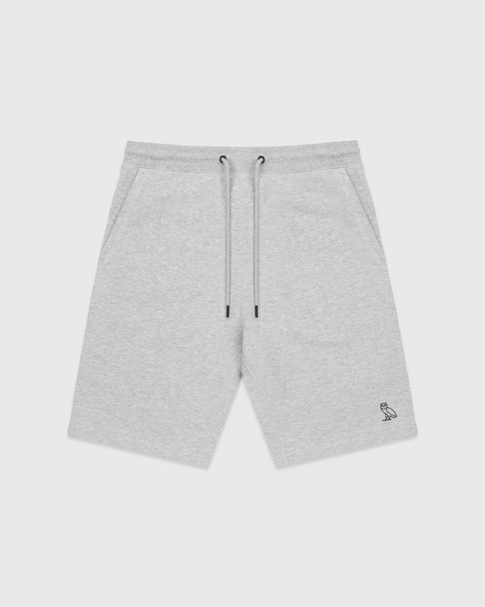 OVO ESSENTIALS SHORT - HEATHER GREY IMAGE #1