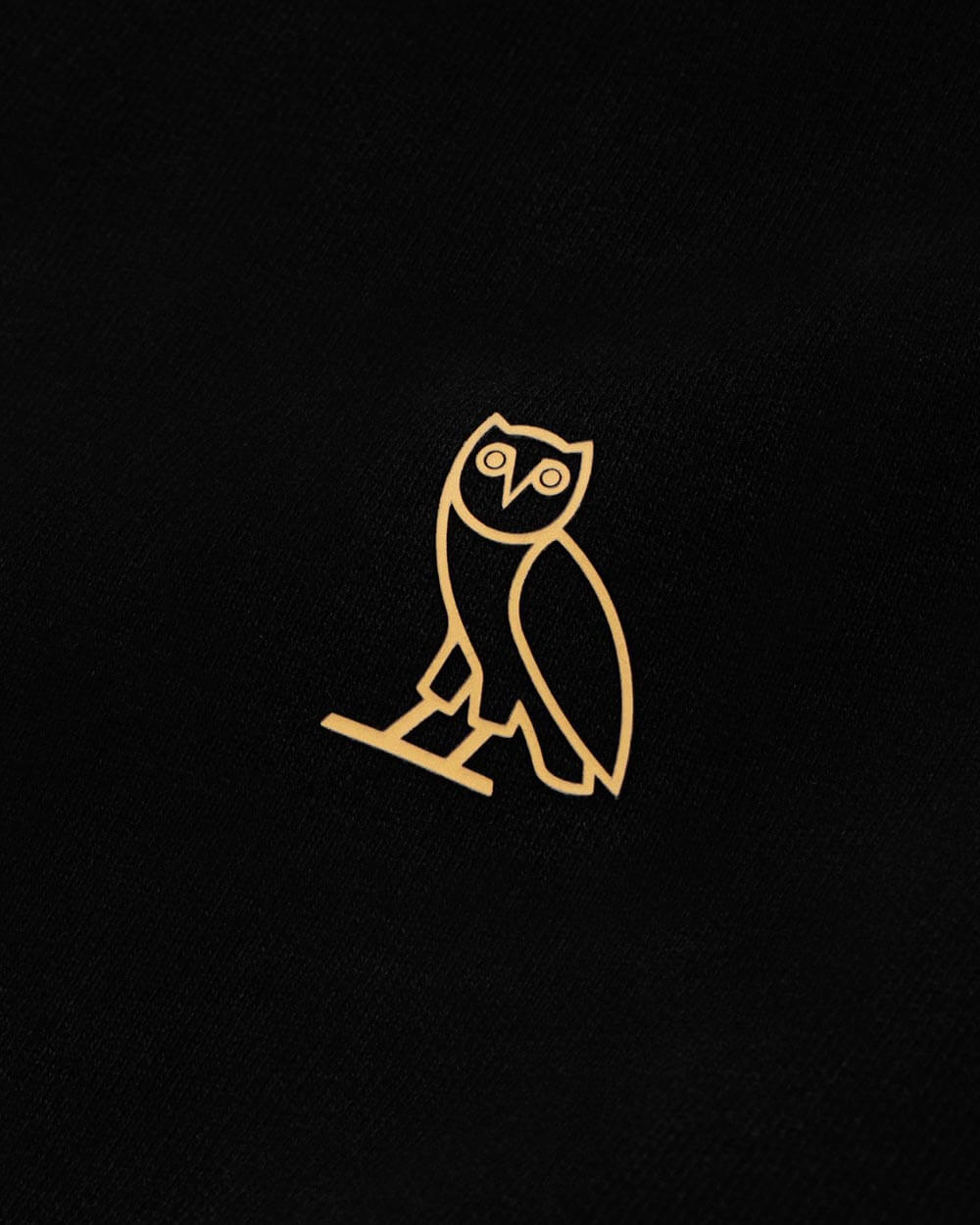 OVO ESSENTIALS ZIP HOODIE - BLACK IMAGE #4