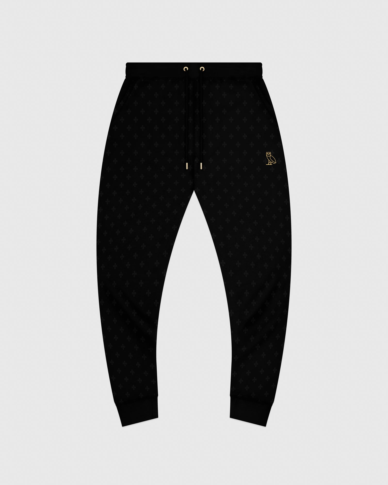 OVO MONOGRAM SWEATPANT - BLACK IMAGE #1