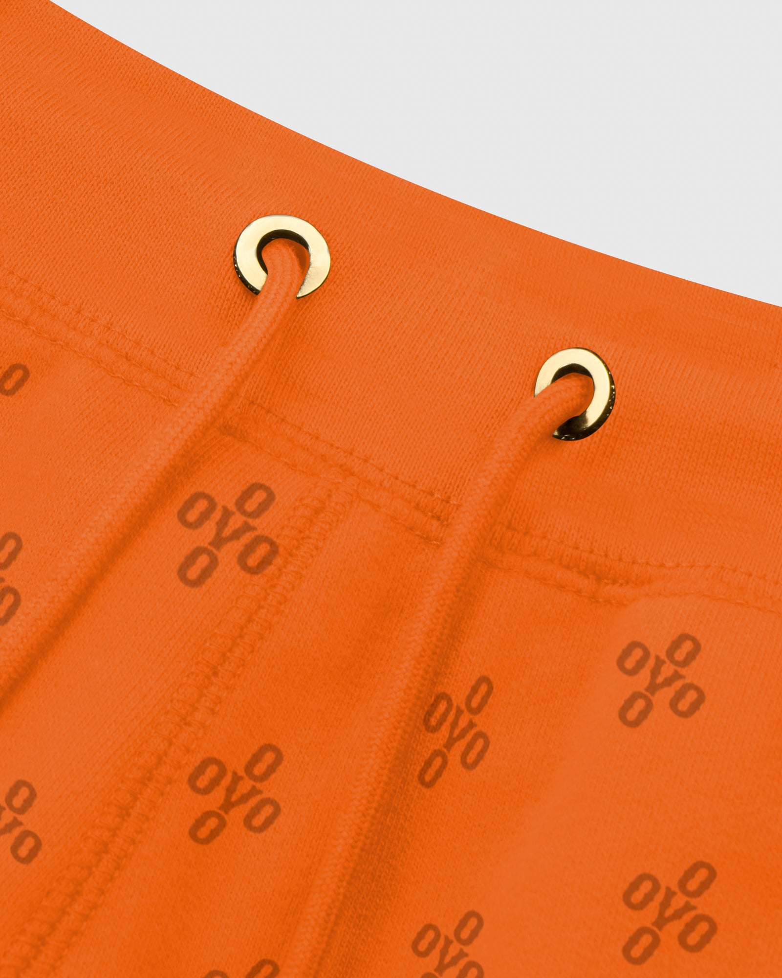 OVO MONOGRAM SWEATSHORT - ORANGE IMAGE #4