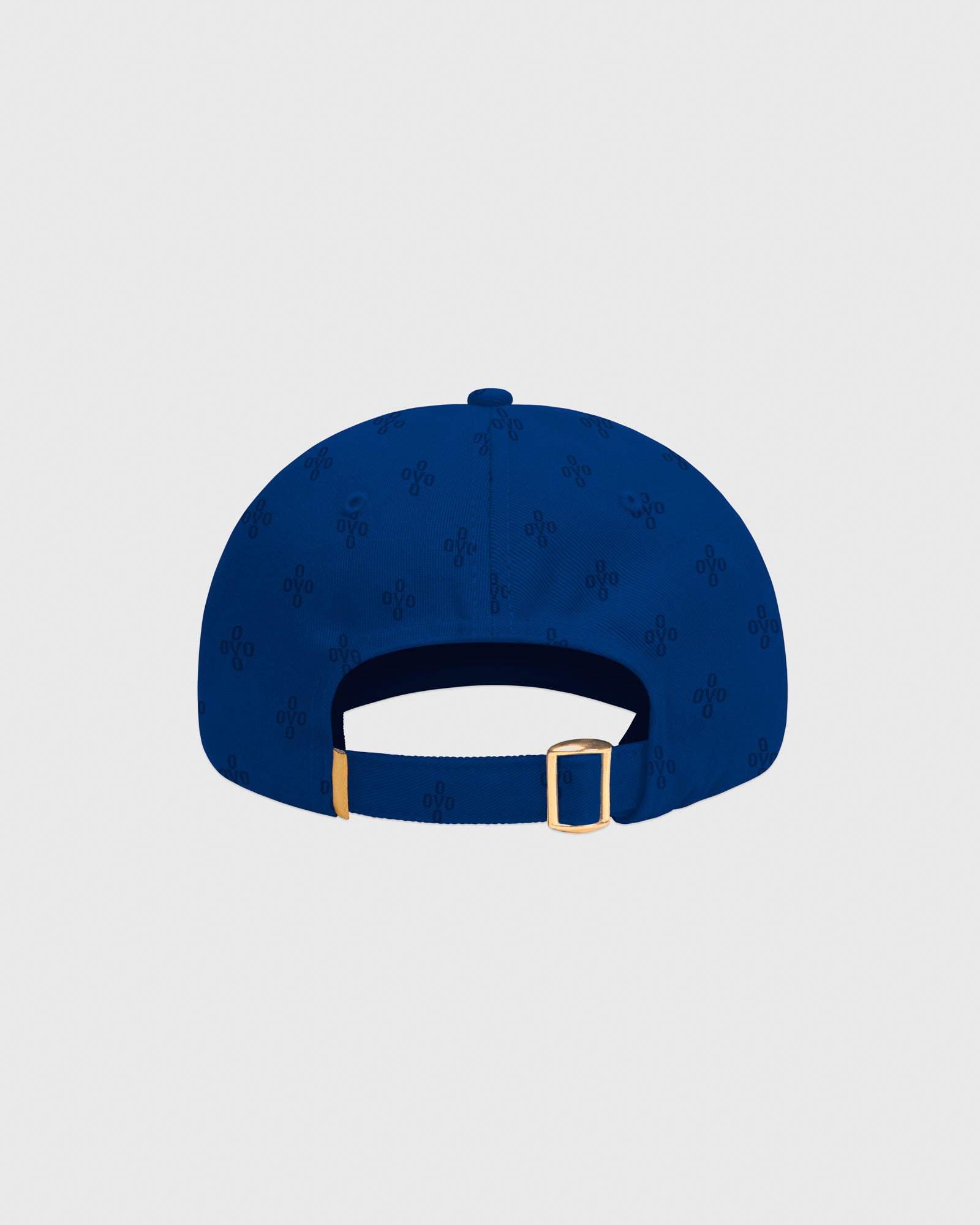 OVO MONOGRAM TWILL CAP - ELECTRIC BLUE IMAGE #4