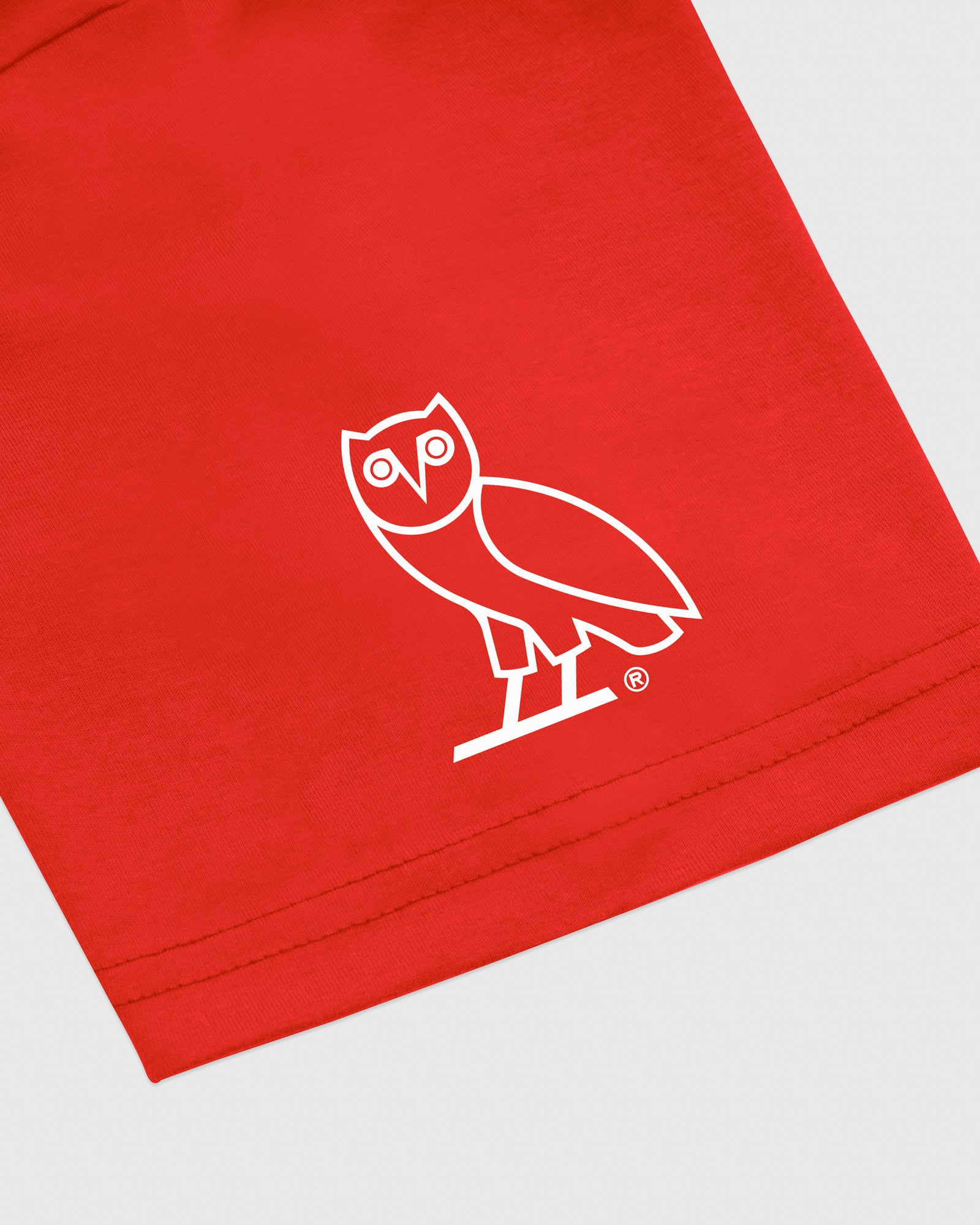 OVO NORTH NORTH T-SHIRT - RED IMAGE #3