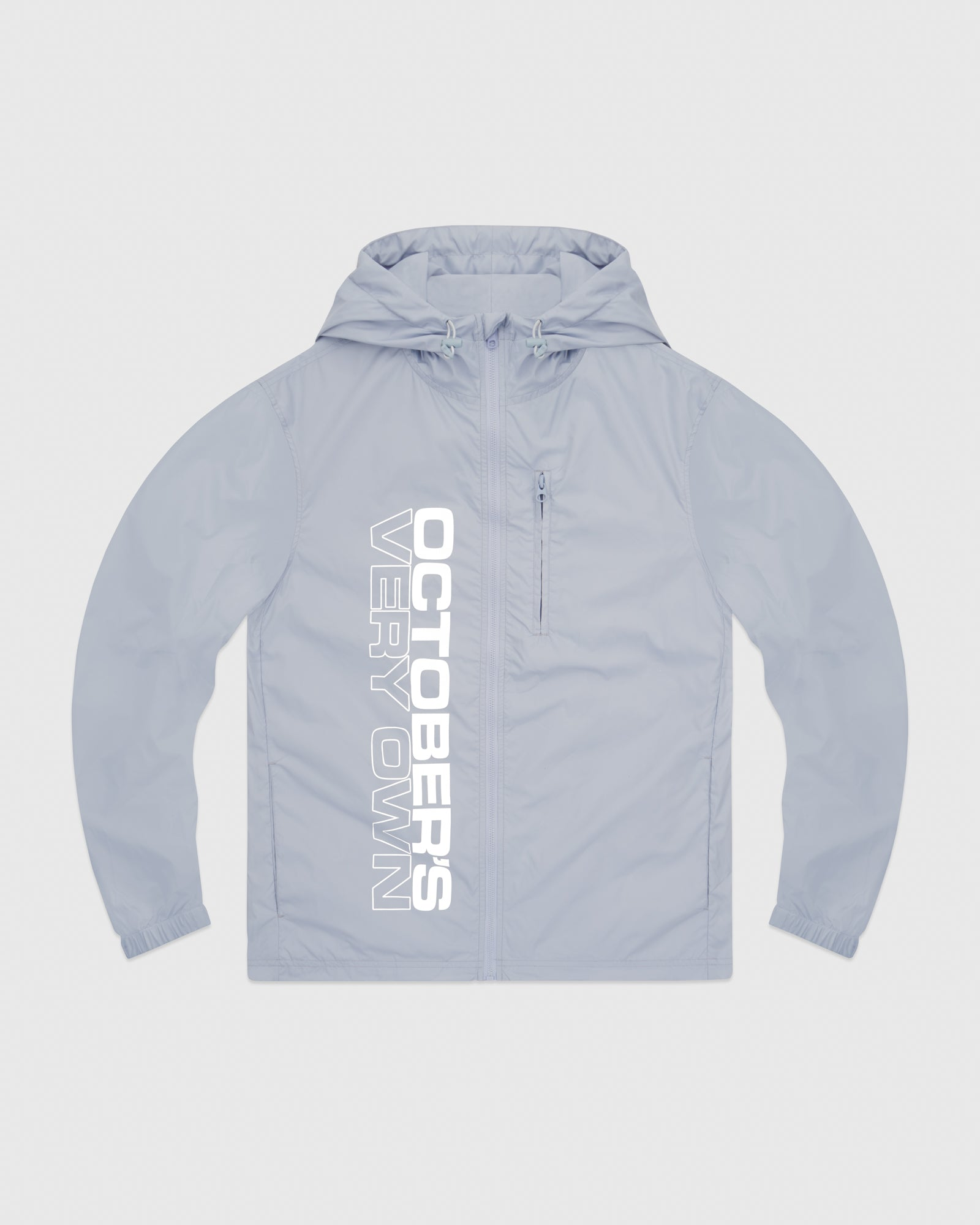 RACER PACKABLE JACKET - BABY BLUE IMAGE #1