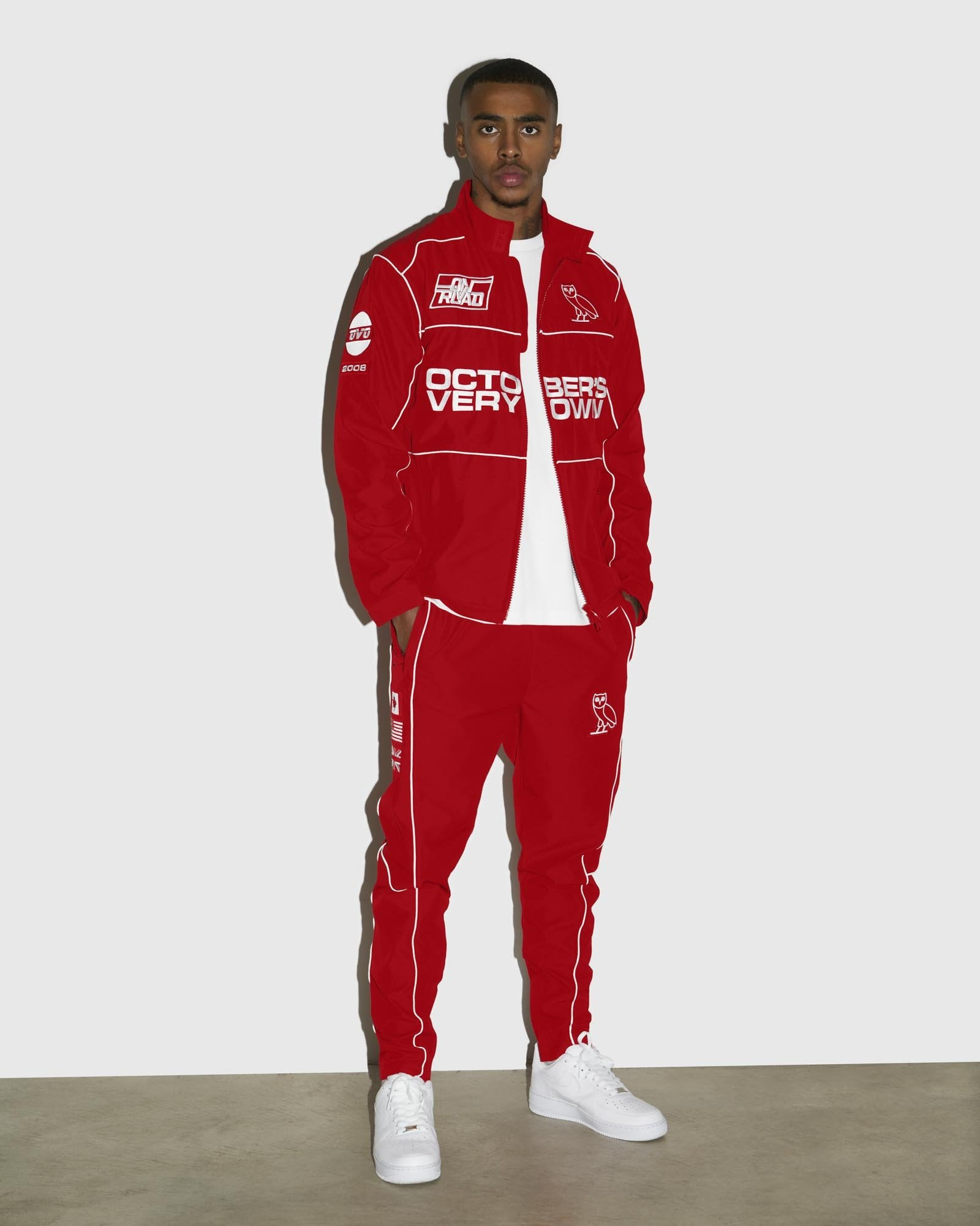 NYLON TEAM RACE PANT - RED IMAGE #2