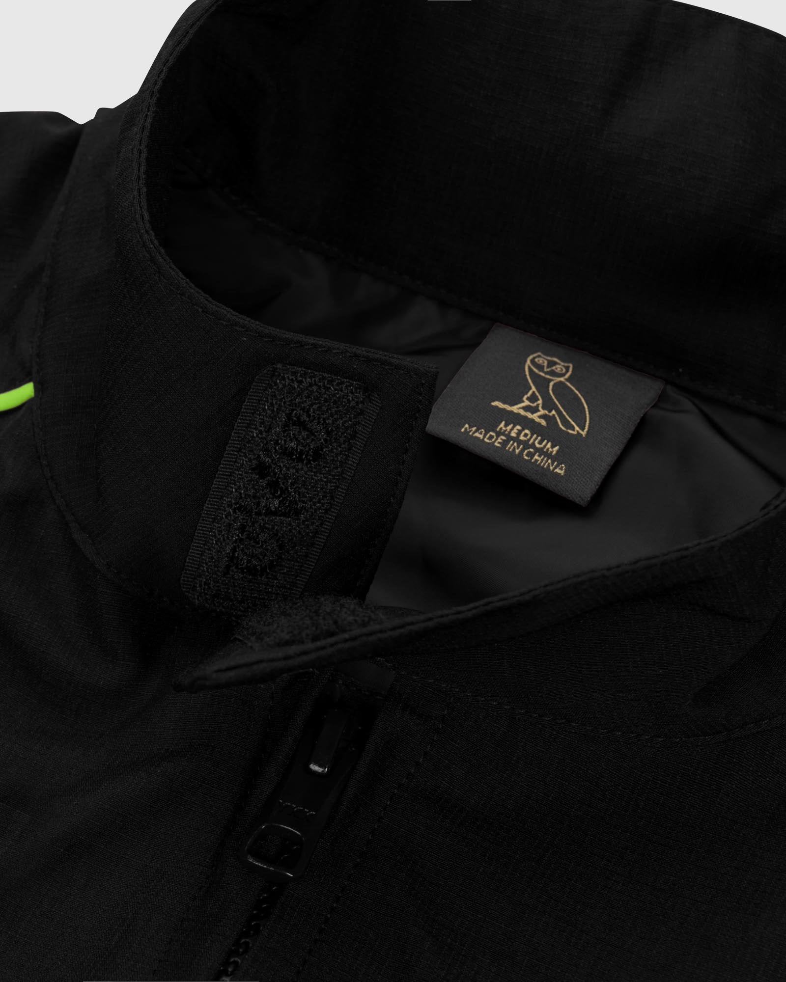 NYLON TEAM RACE JACKET - BLACK IMAGE #4