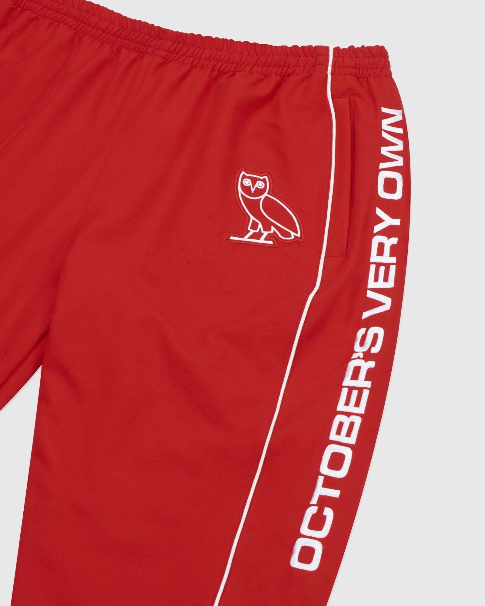 NYLON TEAM RACE PANT - RED IMAGE #3
