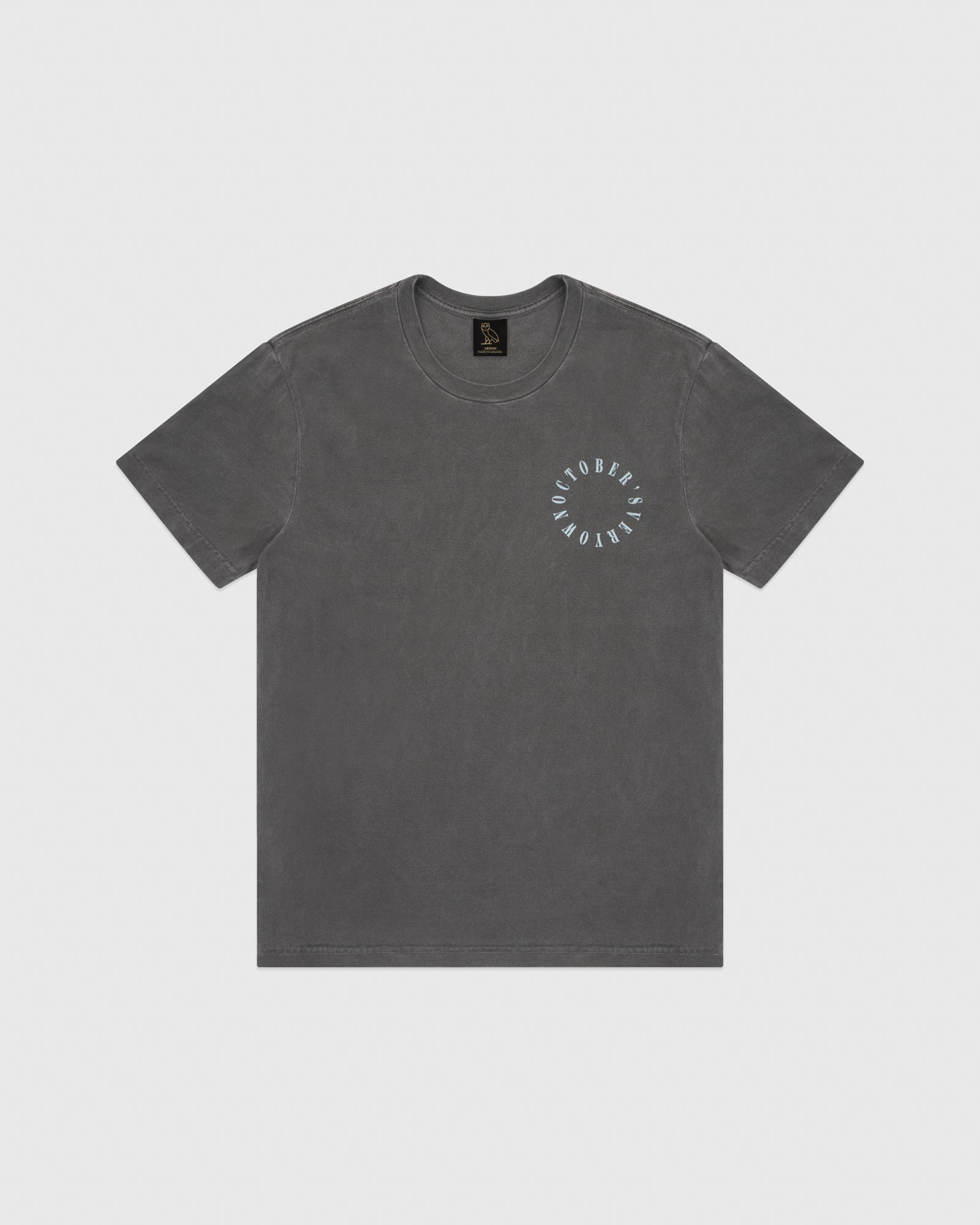 CIRCLE SPELL OUT T-SHIRT - BLACK IMAGE #1