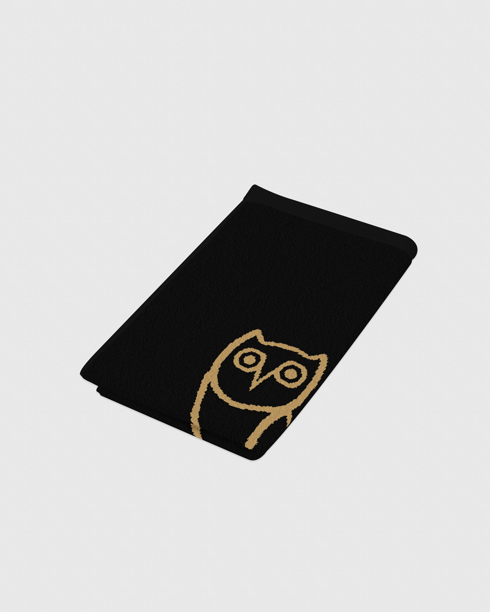 OVO OWL PERSONAL TOWEL - BLACK/GOLD IMAGE #3