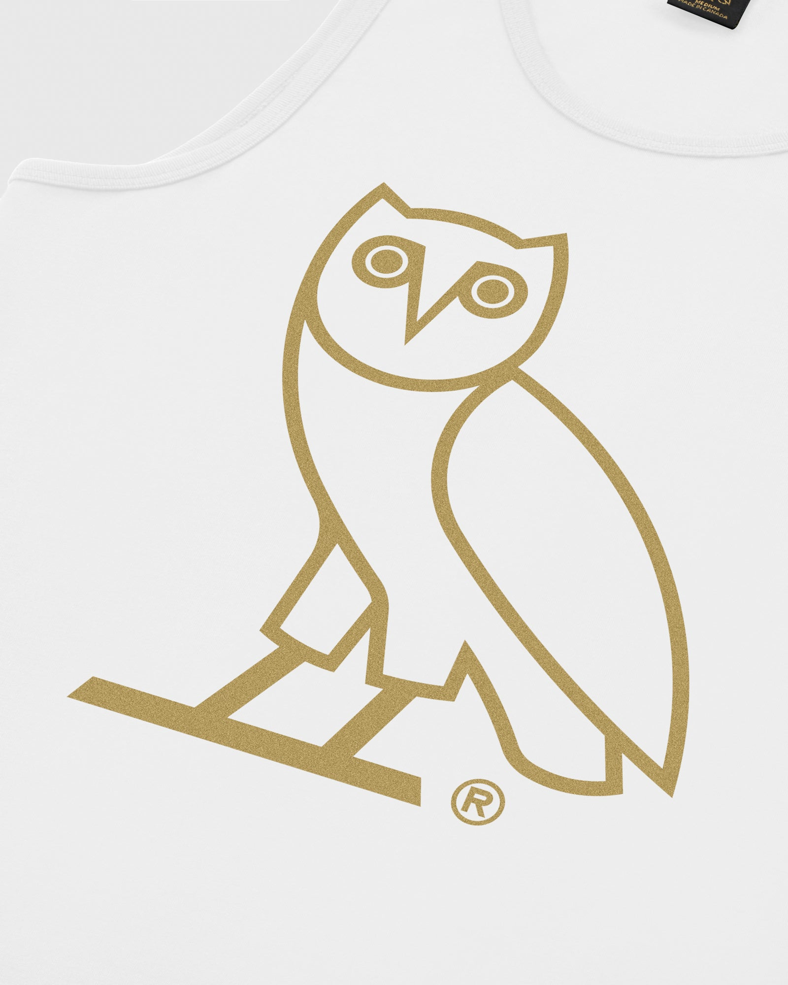 OVO OWL TANK TOP - WHITE