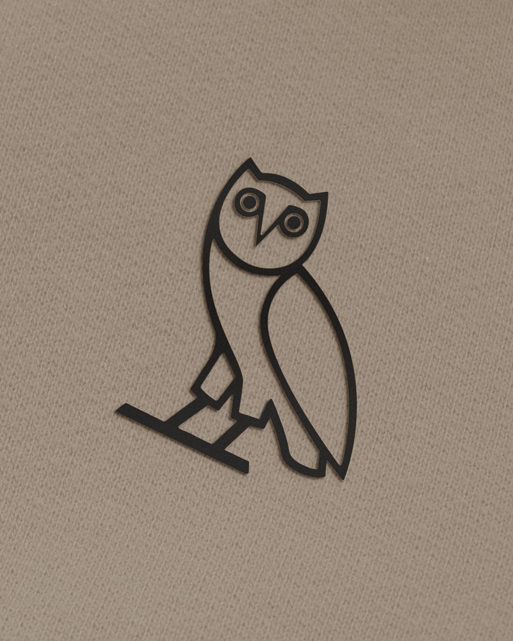 OWL T-SHIRT - WARM GREY