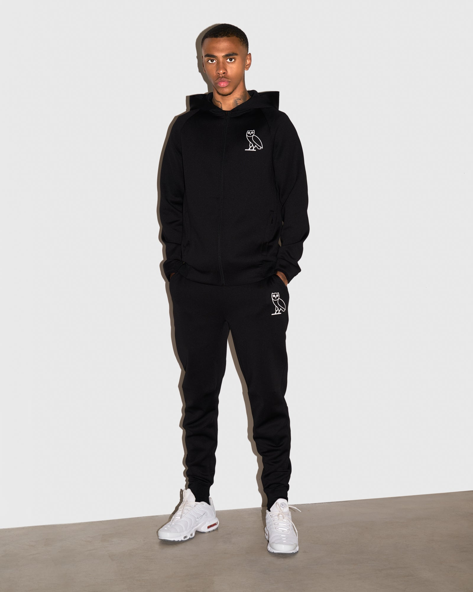 OVO DOUBLE KNIT PANT - BLACK IMAGE #2