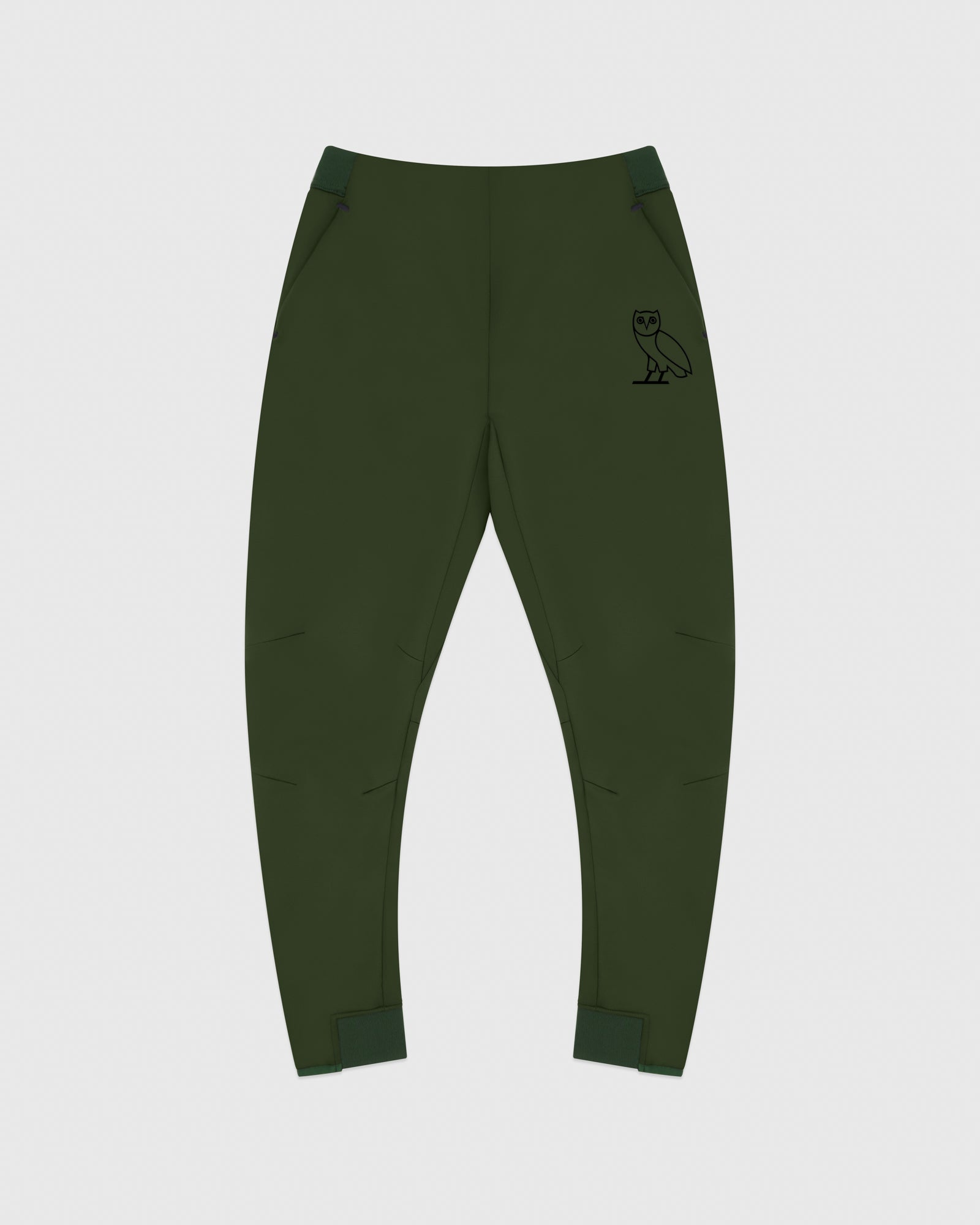 OVO DOUBLE KNIT PANT - MILITARY GREEN IMAGE #1