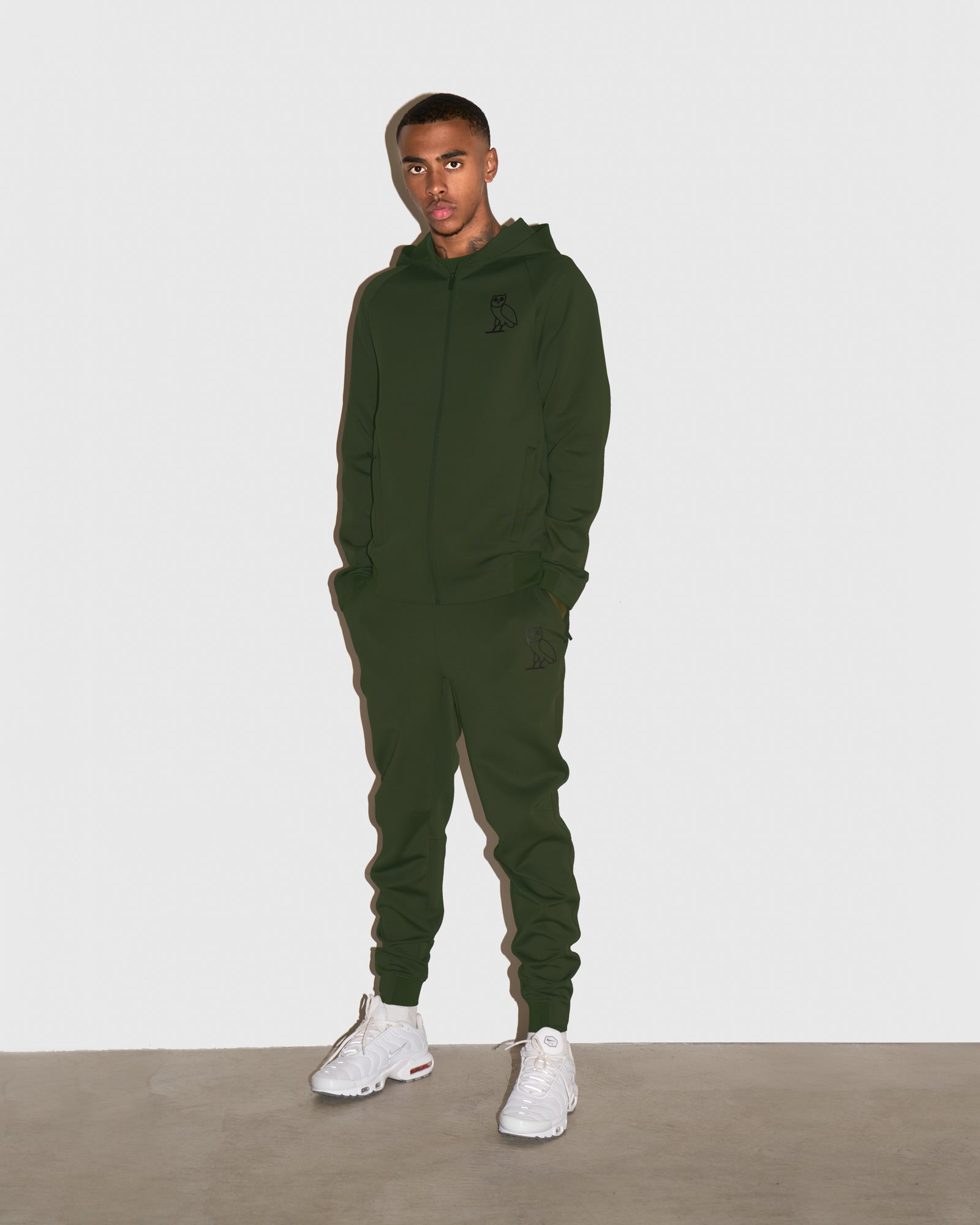OVO DOUBLE KNIT PANT - MILITARY GREEN IMAGE #2