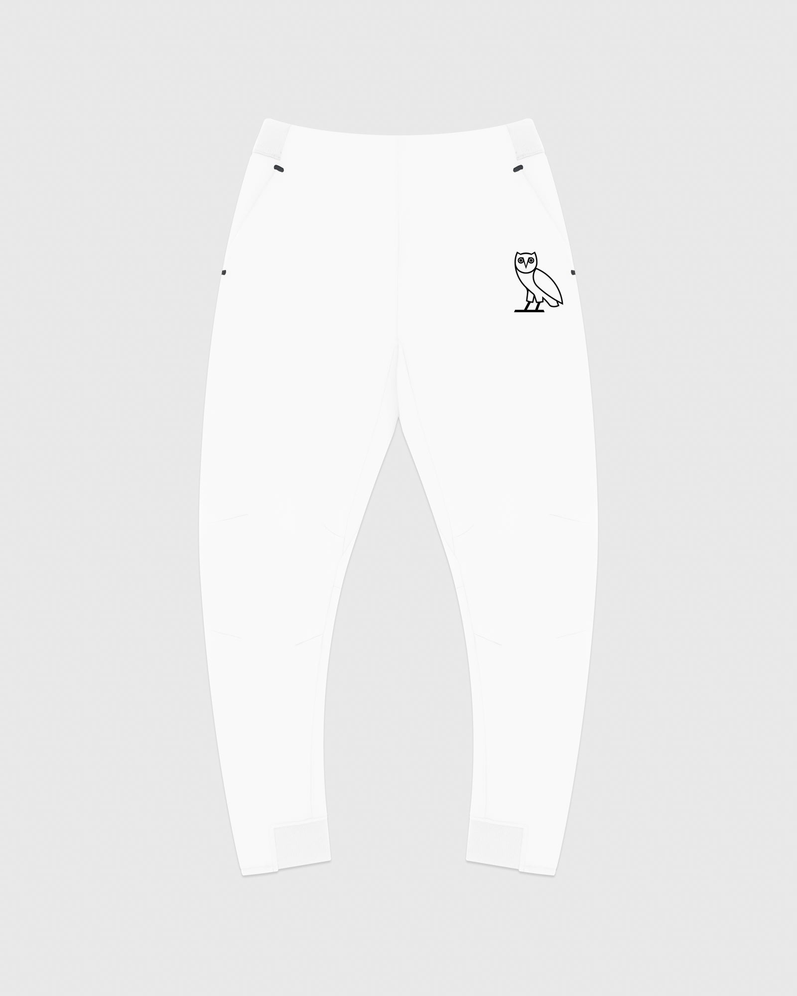 OVO DOUBLE KNIT PANT - WHITE IMAGE #1