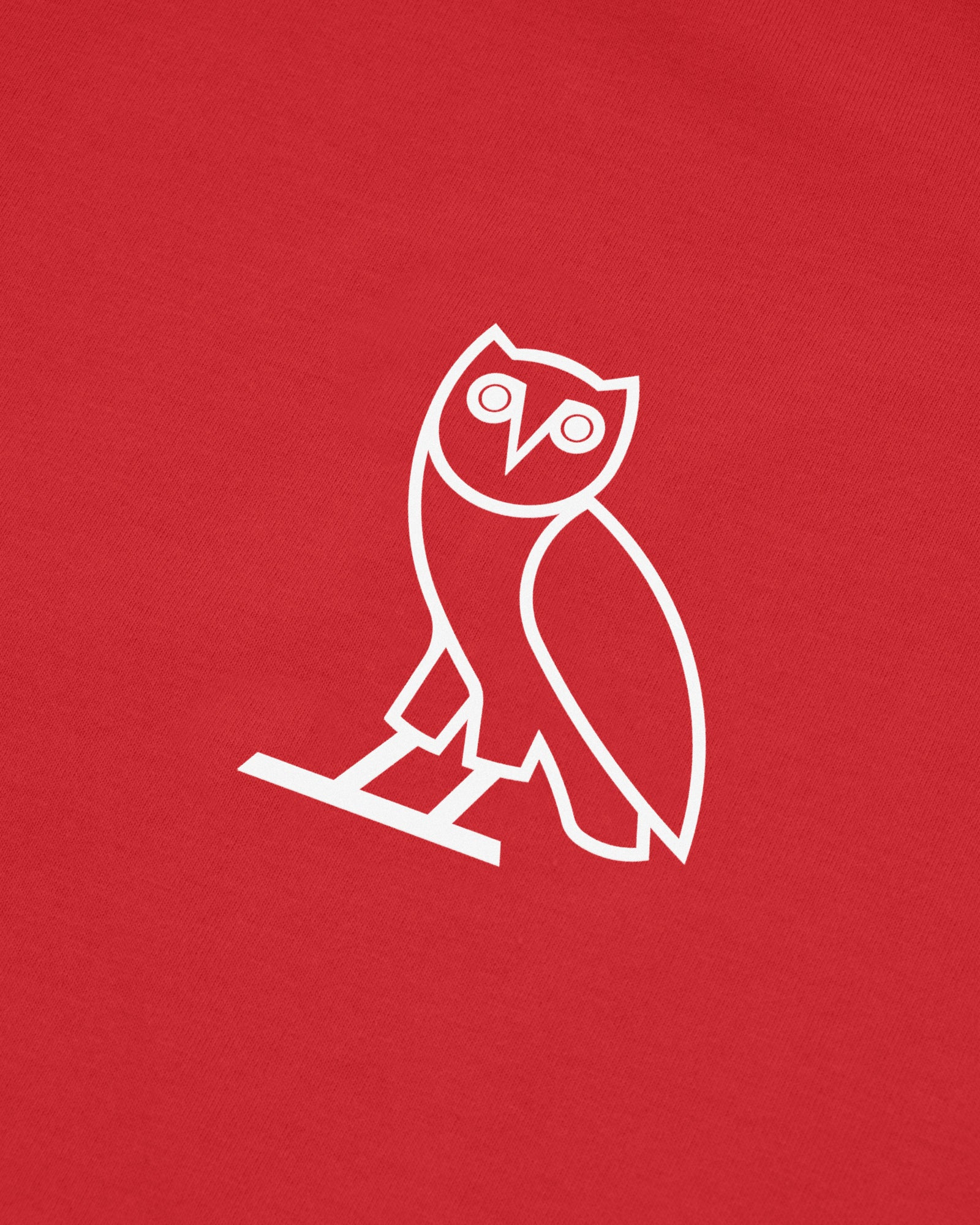OVO PERFORMANCE JERSEY SLEEVELESS T-SHIRT - RED IMAGE #3