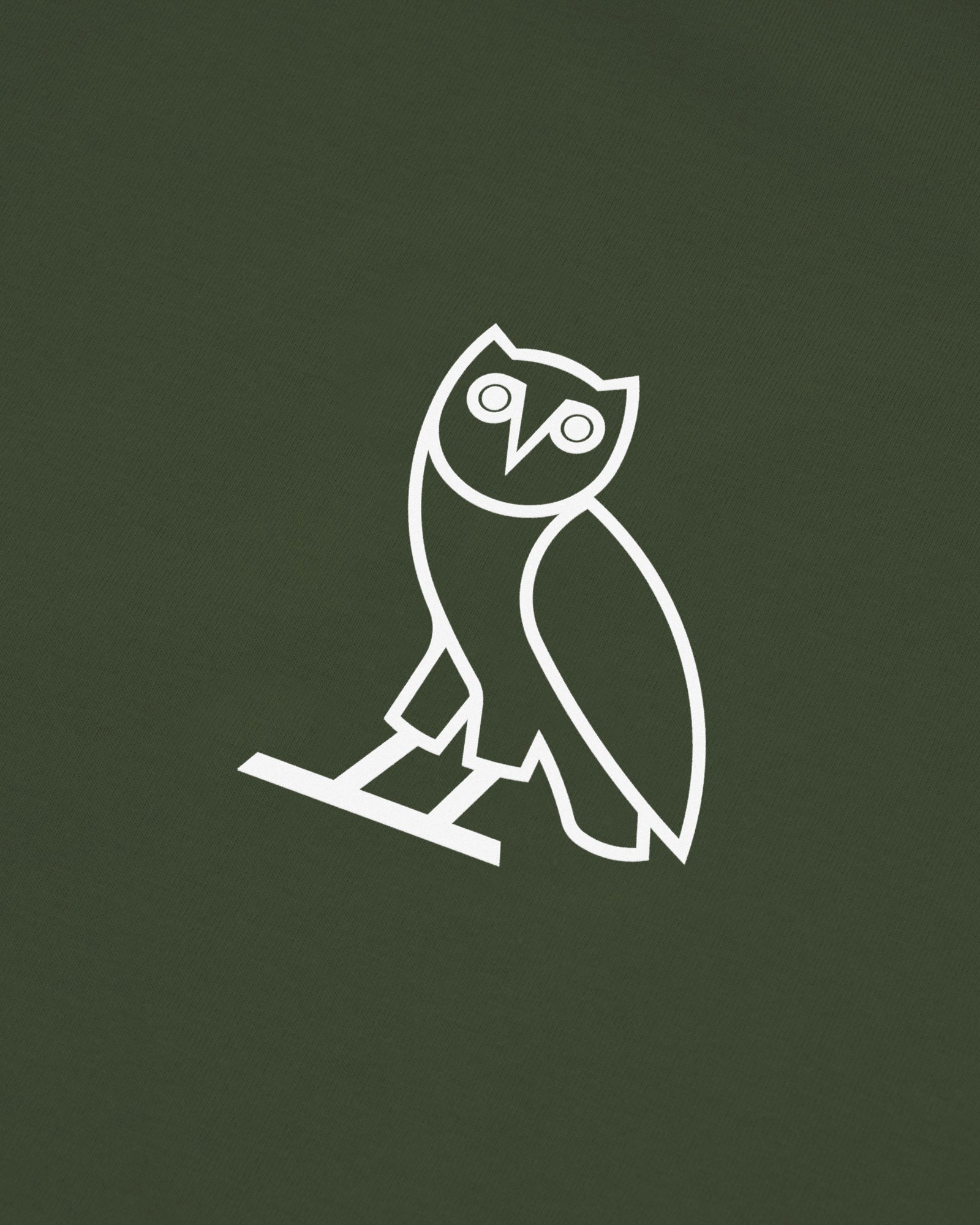 OVO PERFORMANCE JERSEY T-SHIRT - MILITARY GREEN IMAGE #3