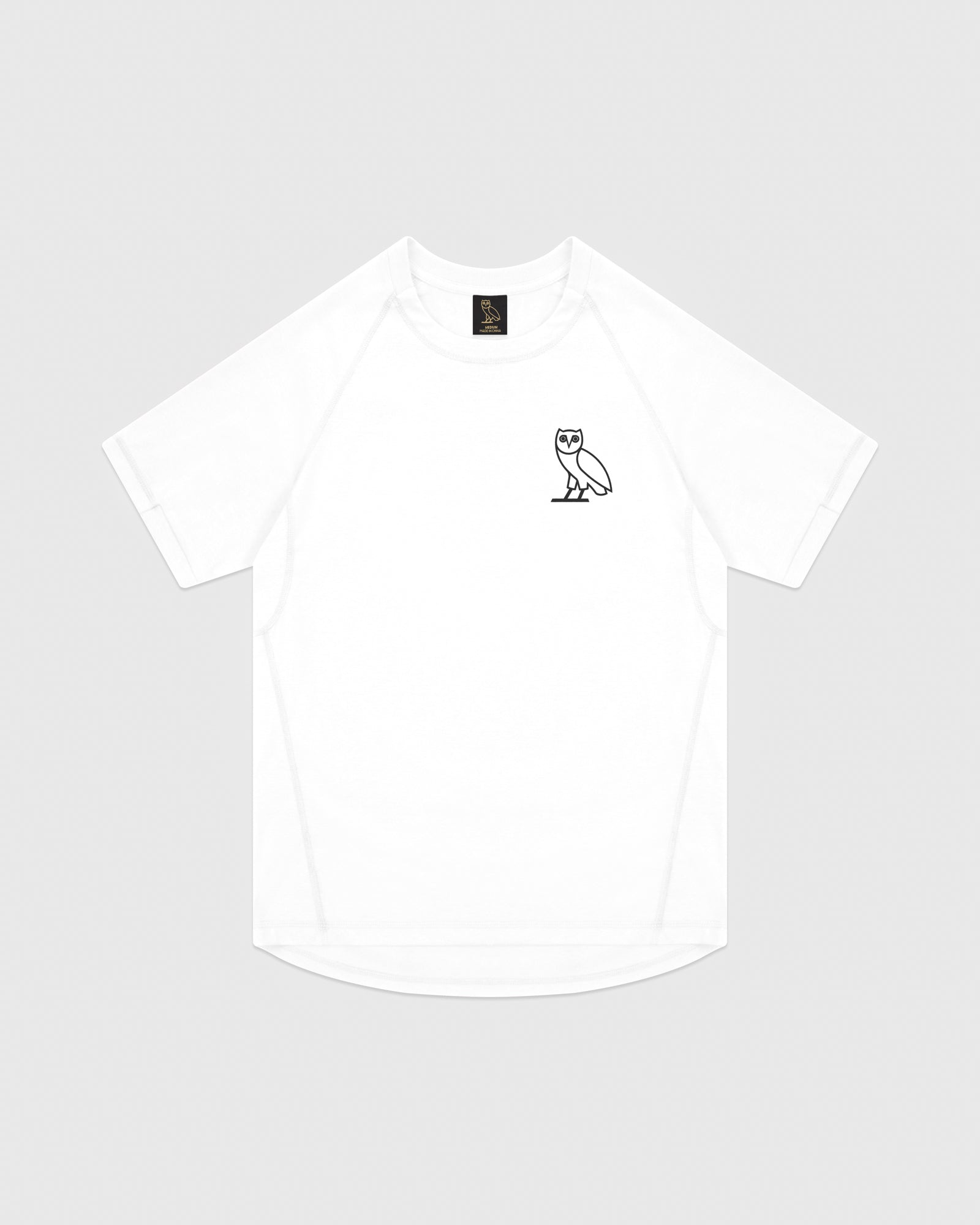 OVO PERFORMANCE JERSEY T-SHIRT - WHITE IMAGE #1