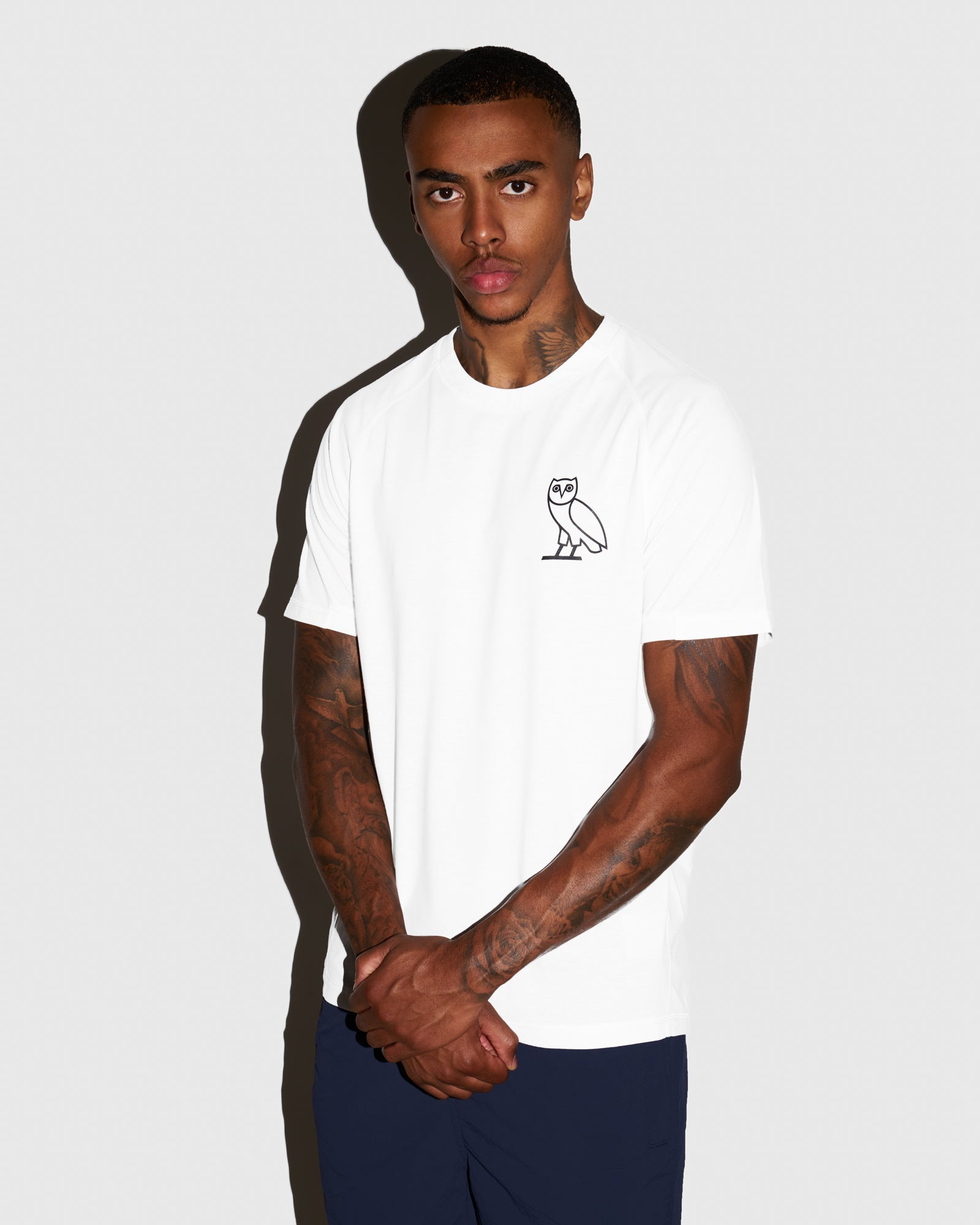 OVO PERFORMANCE JERSEY T-SHIRT - WHITE IMAGE #2
