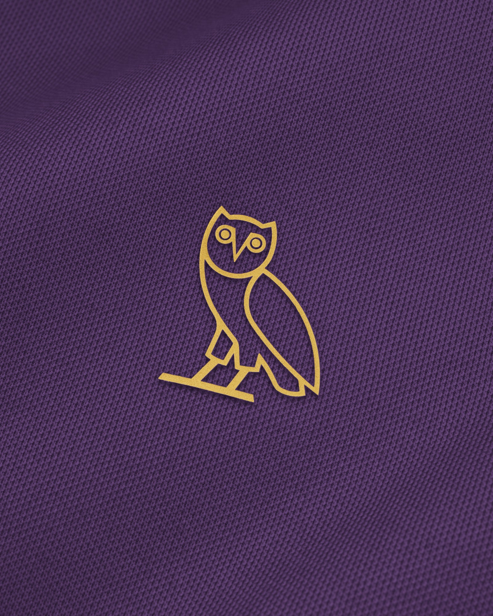OVO PIQUE JACKET - PURPLE
