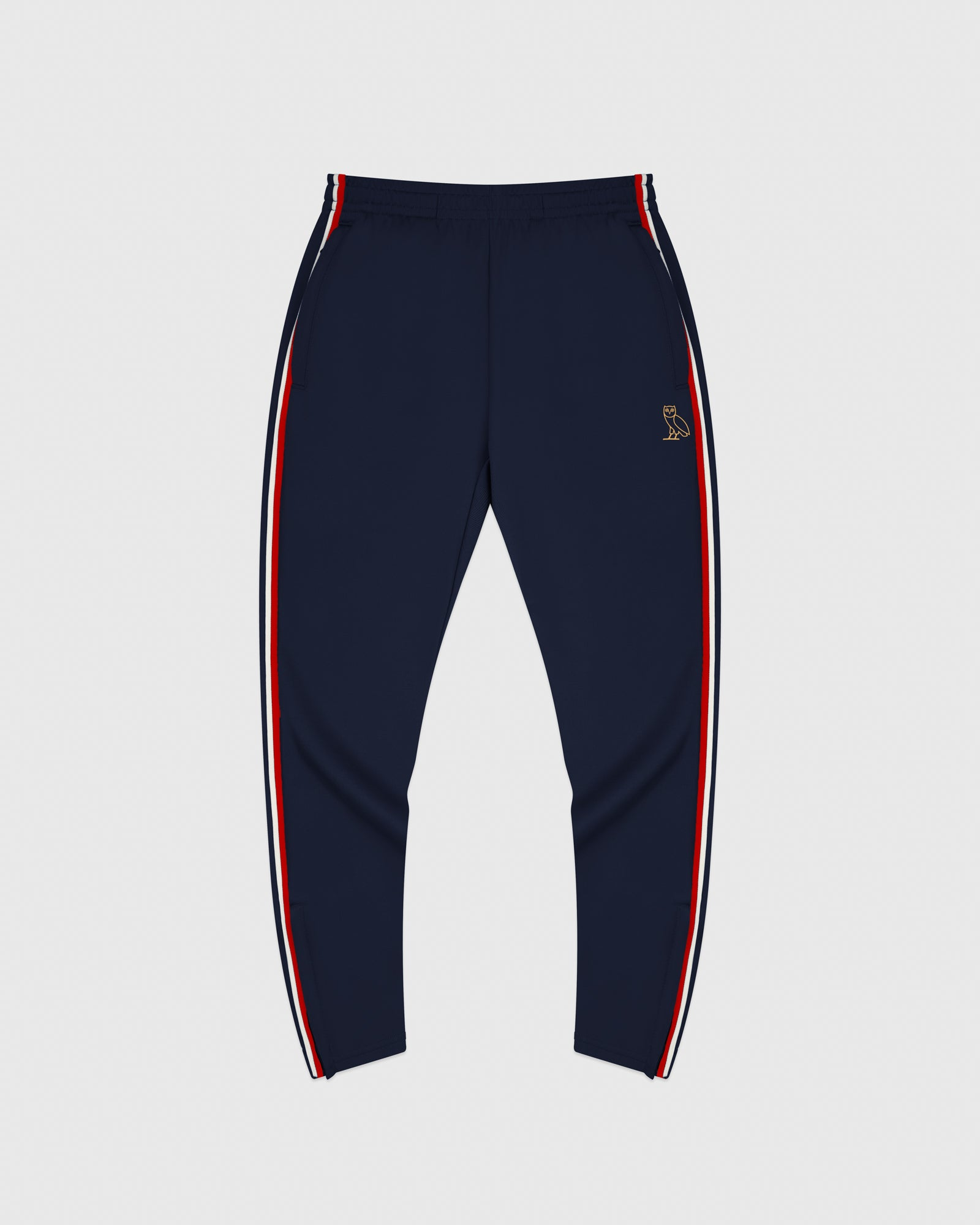 OVO PIQUE PANT - NAVY IMAGE #1