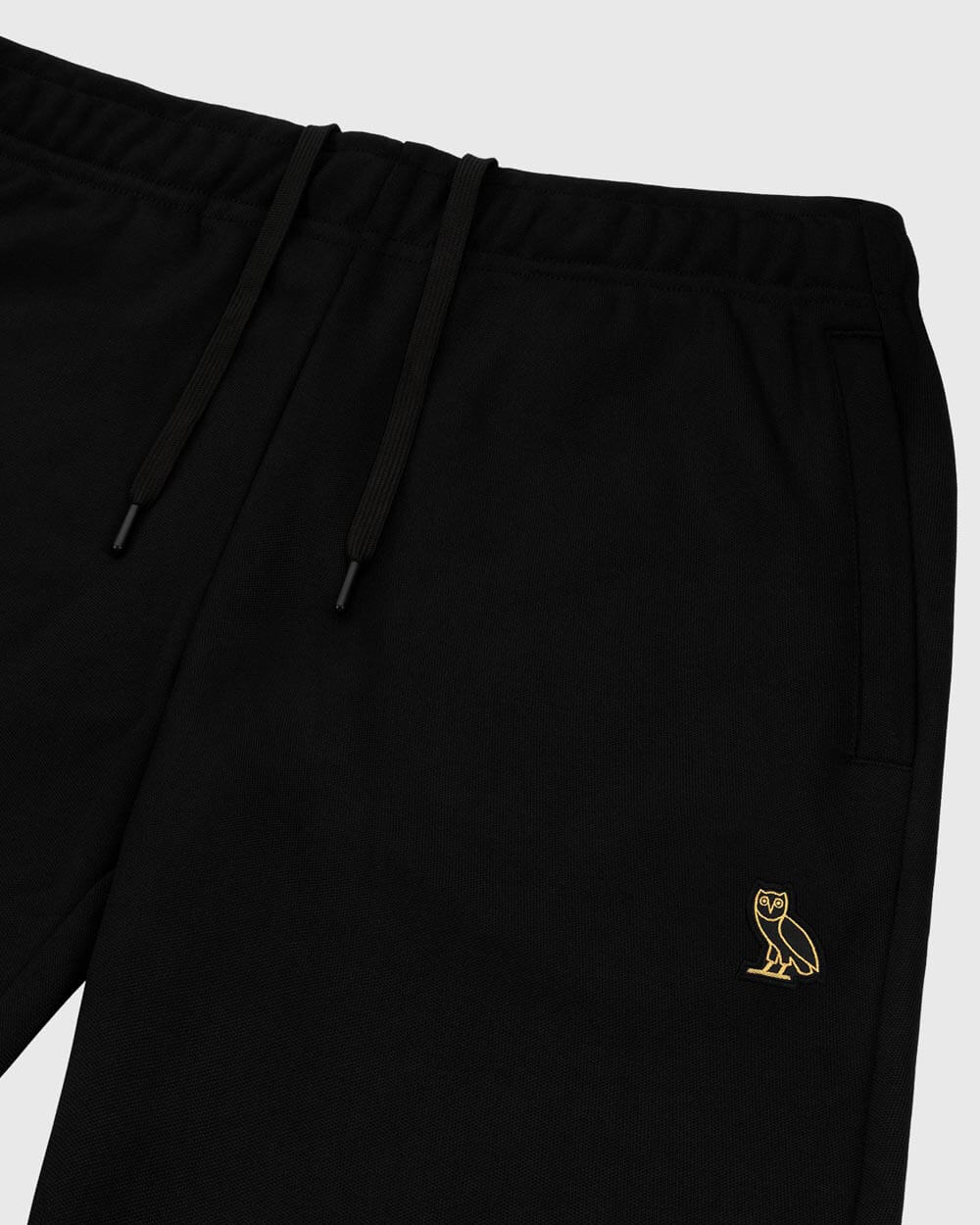 OVO ESSENTIALS PIQUE PANT - BLACK IMAGE #5