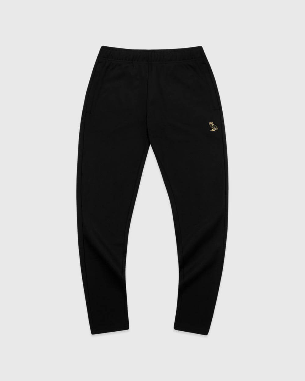 OVO ESSENTIALS PIQUE PANT - BLACK IMAGE #1