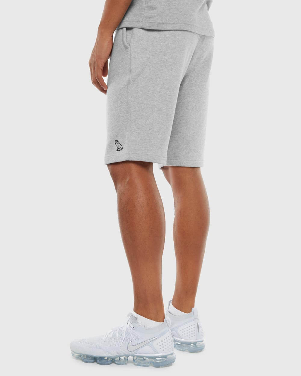 OVO ESSENTIALS SHORT - HEATHER GREY IMAGE #3