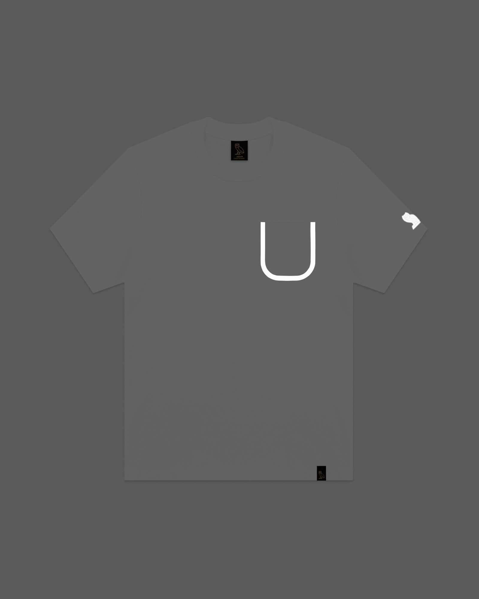 OVO REFLECTIVE POCKET T-SHIRT - WHITE IMAGE #3
