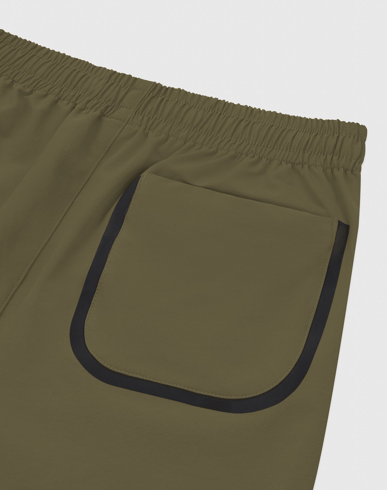 OVO 4-WAY STRETCH SHORT - LIGHT STONE GREEN IMAGE #5