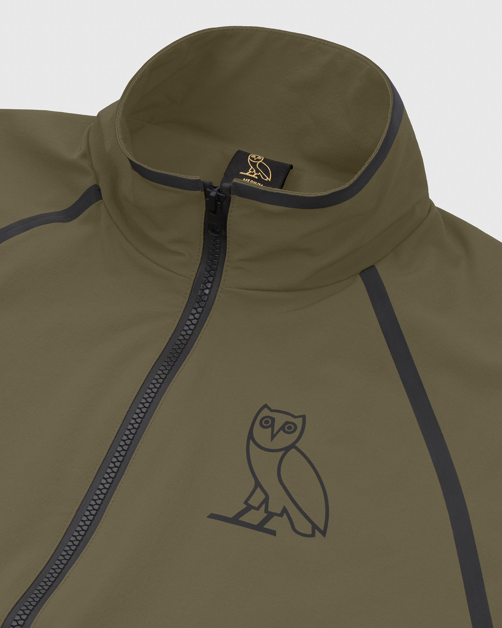 OVO 4-WAY STRETCH ANORAK - LIGHT STONE GREEN IMAGE #5