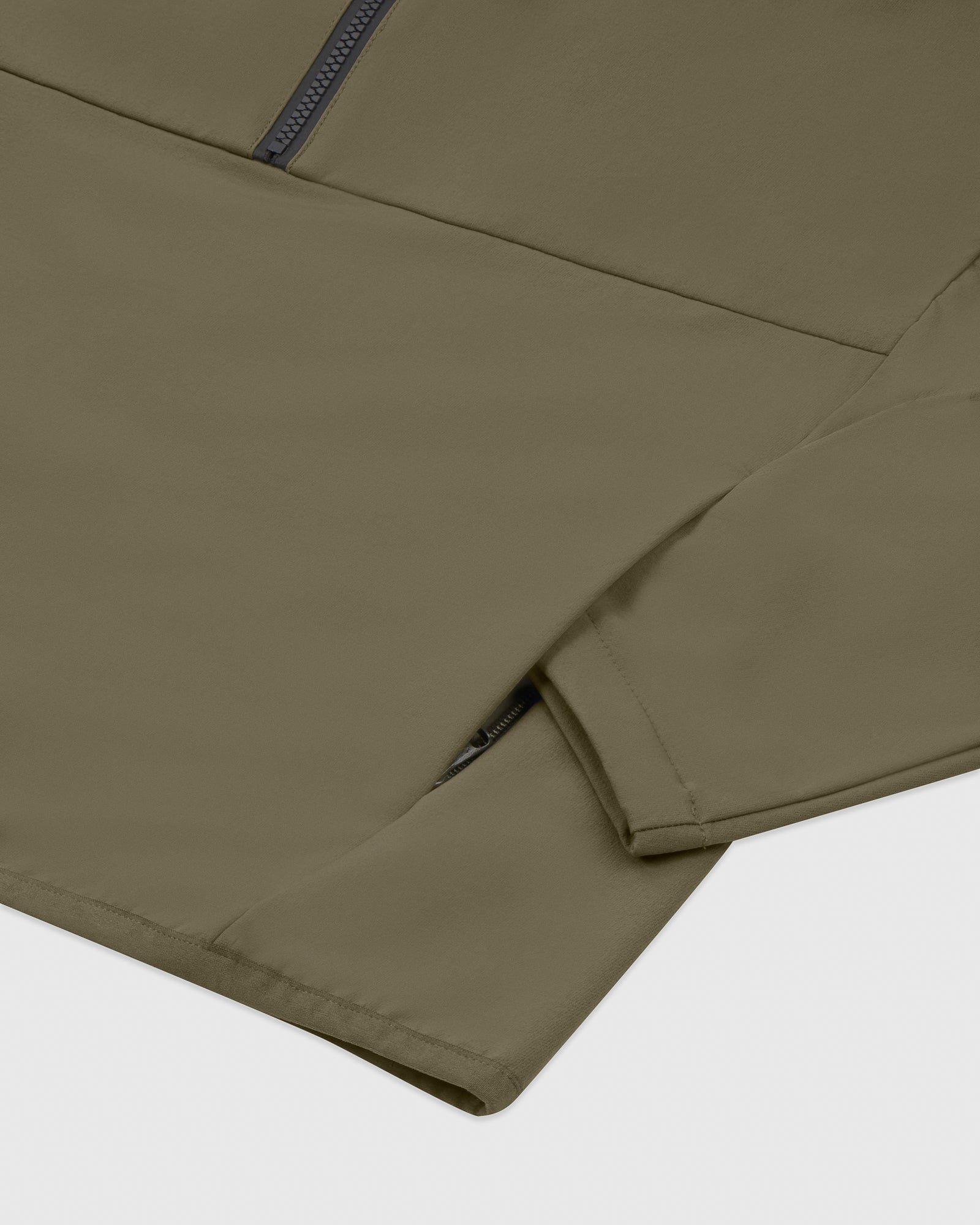 OVO 4-WAY STRETCH ANORAK - LIGHT STONE GREEN IMAGE #7