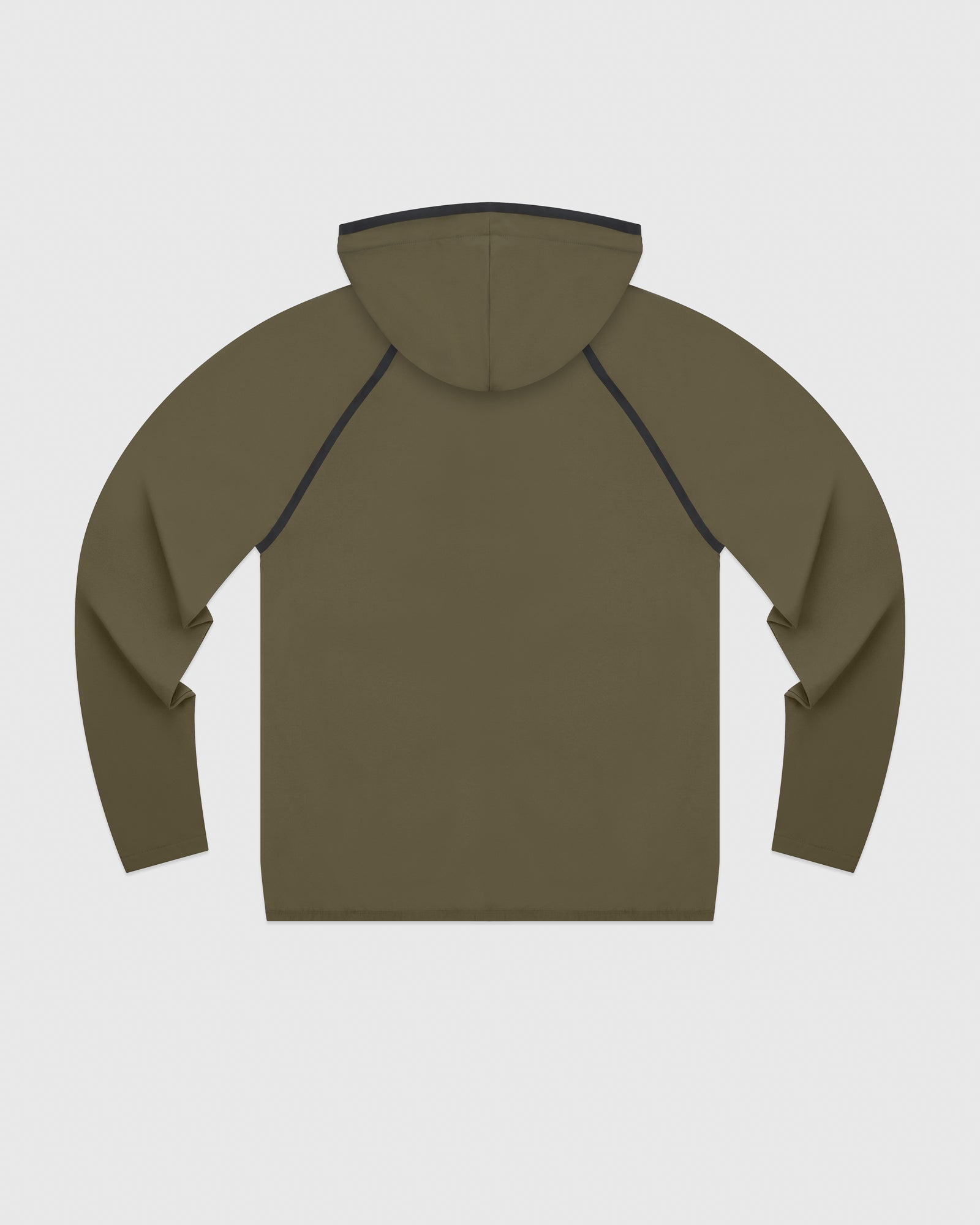 OVO 4-WAY STRETCH ZIP HOODIE - LIGHT STONE GREEN IMAGE #6