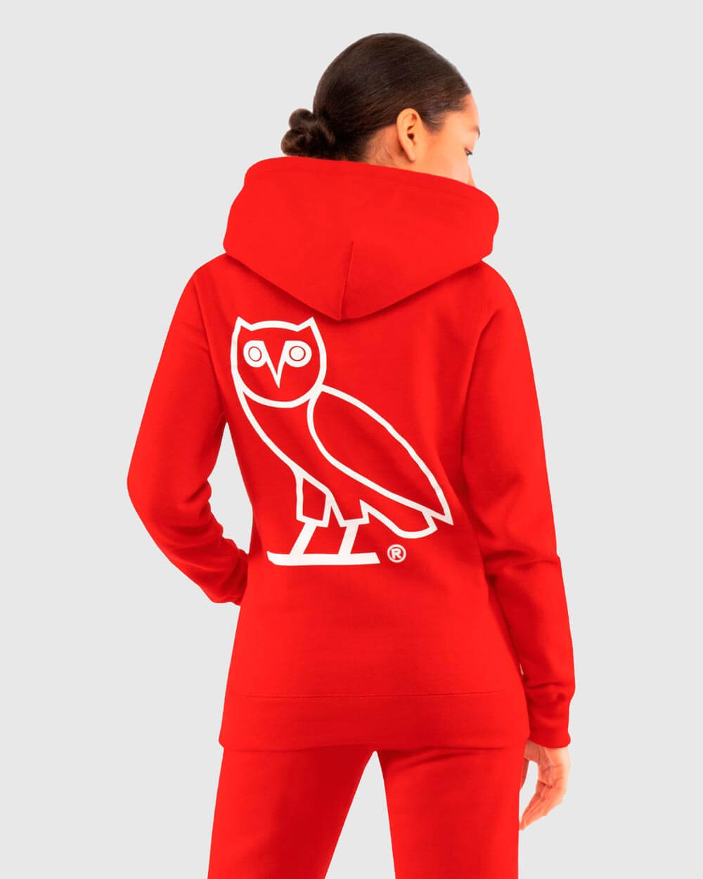 OVO x ROOTS WOMEN'S HOODIE - RED