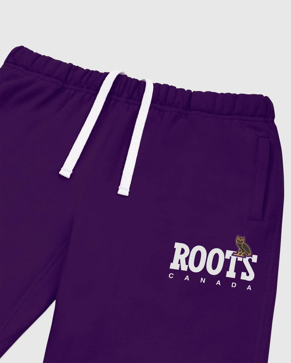 OVO x ROOTS WOMEN'S SWEATPANT - PURPLE