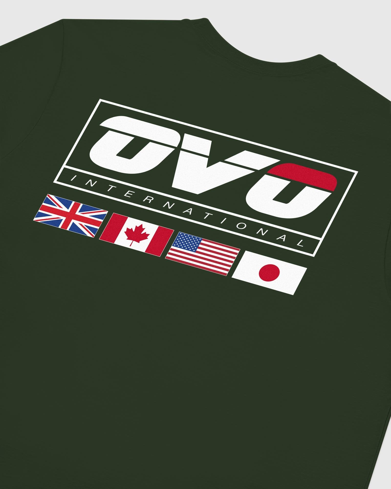 INTERNATIONAL LONGSLEEVE T-SHIRT - FOREST GREEN IMAGE #6