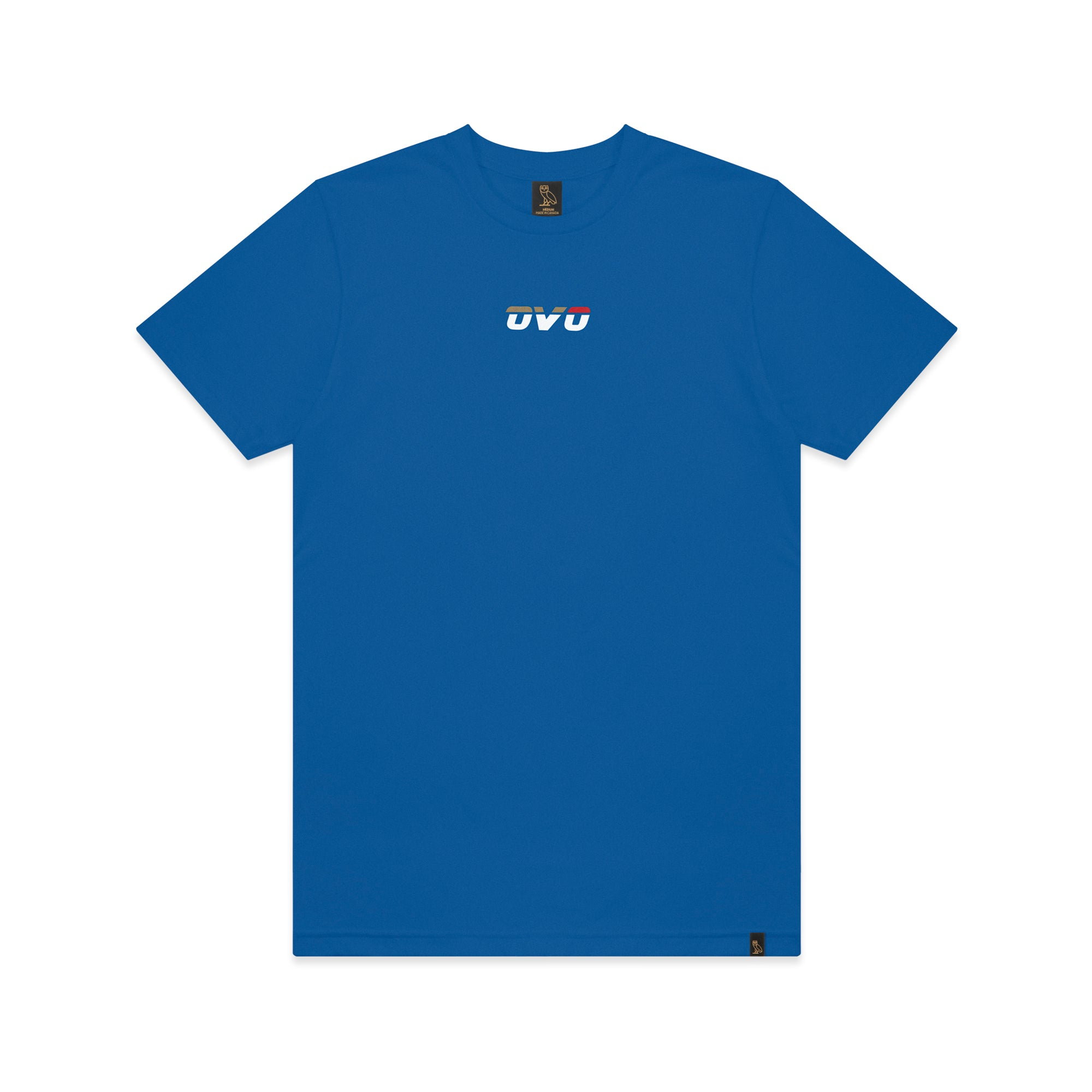 OVO RUNNER T-SHIRT - BLUE