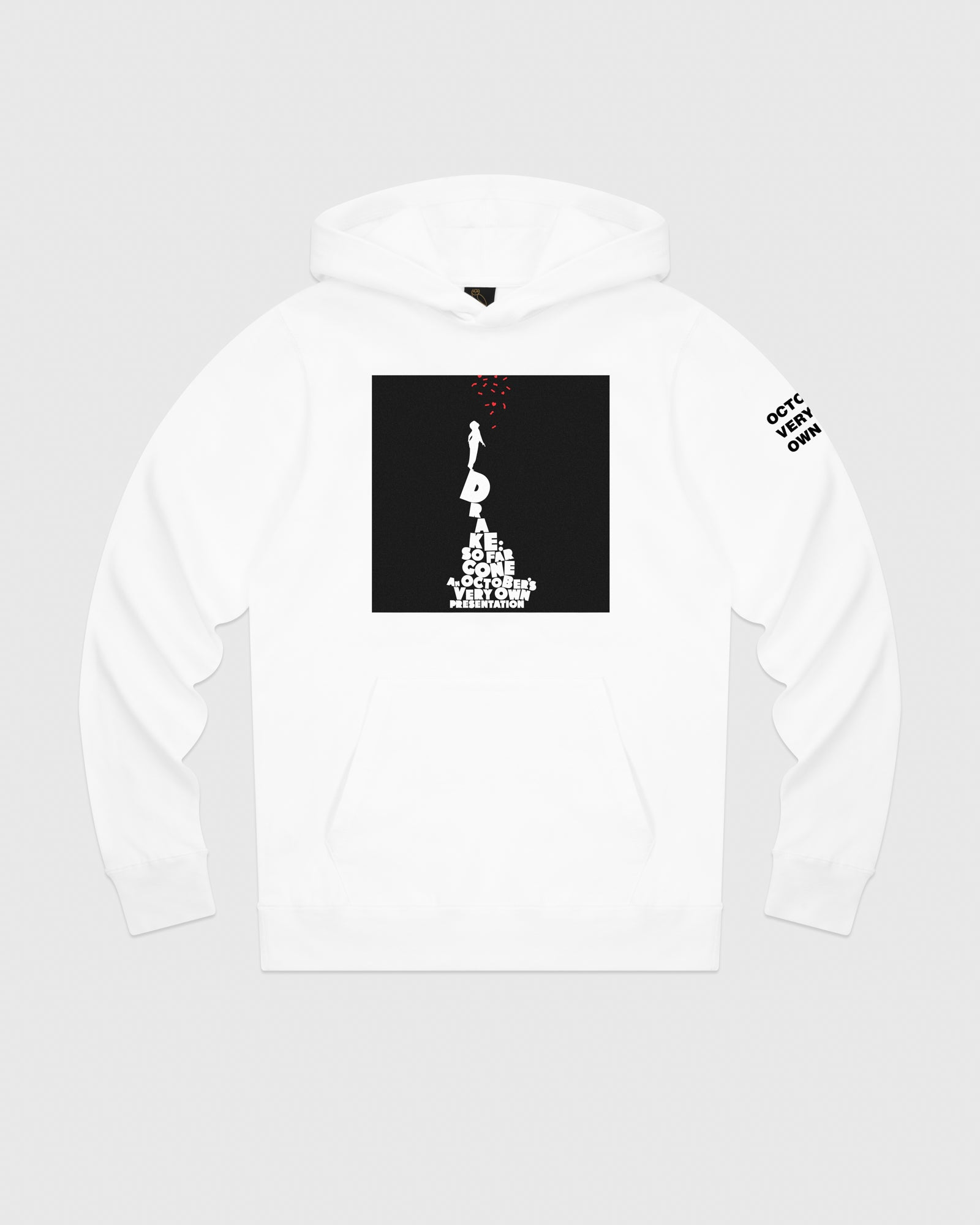 SO FAR GONE HOODIE - WHITE IMAGE #1